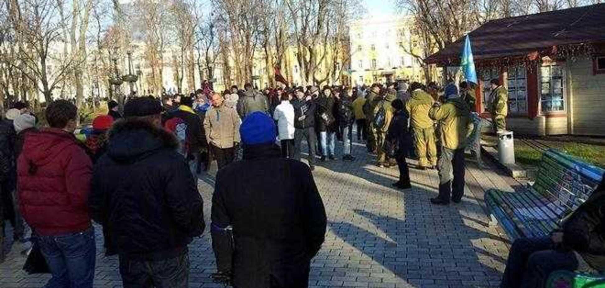 Міліція нарахувала в центрі Києва не більше 2,5 тис. мітингувальників