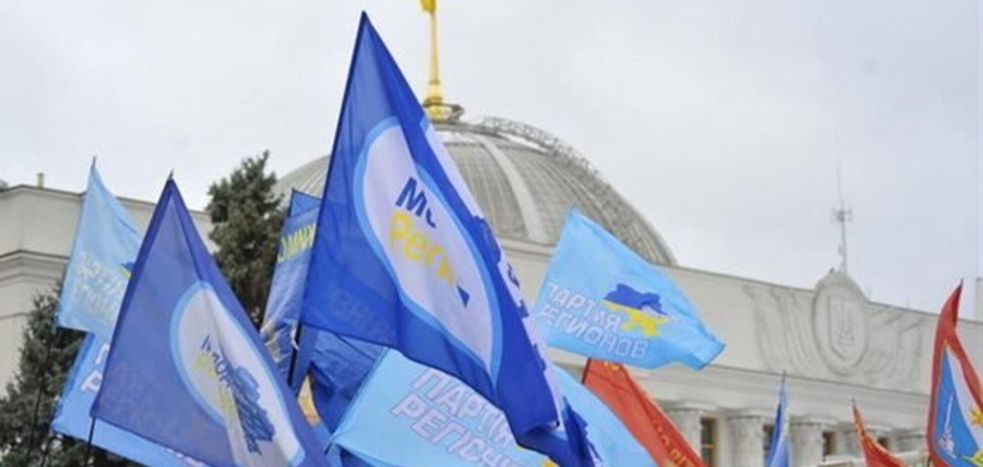 В Мариинском парке митингуют несколько десятков сторонников ПР