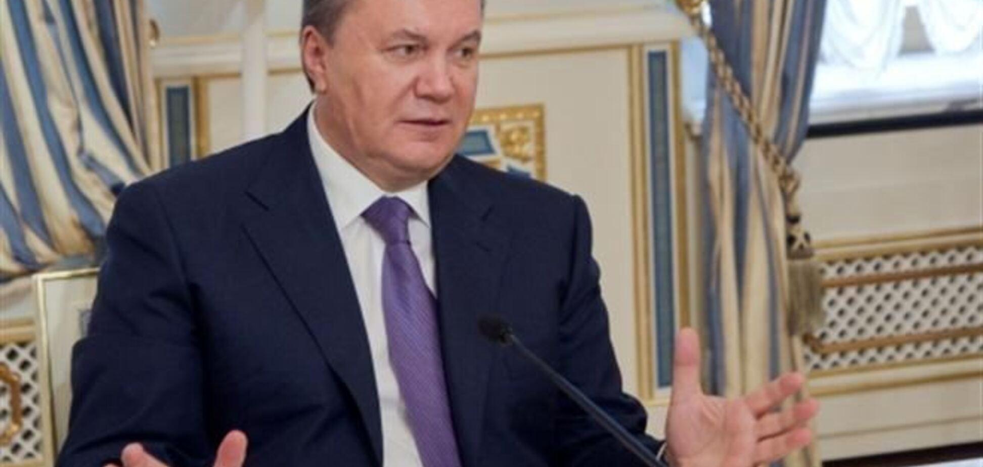 Янукович пообещал освободить арестованных за штурм Банковой
