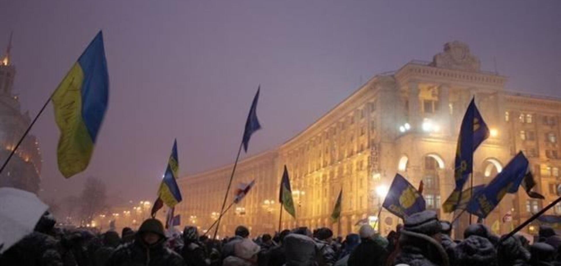 Попов намерен установить ледовый каток на Майдане 15 декабря