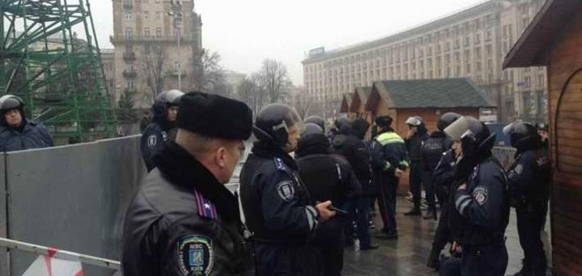 Станции метро 'Майдан Незалежности' и 'Крещатик' закрыты на вход и выход