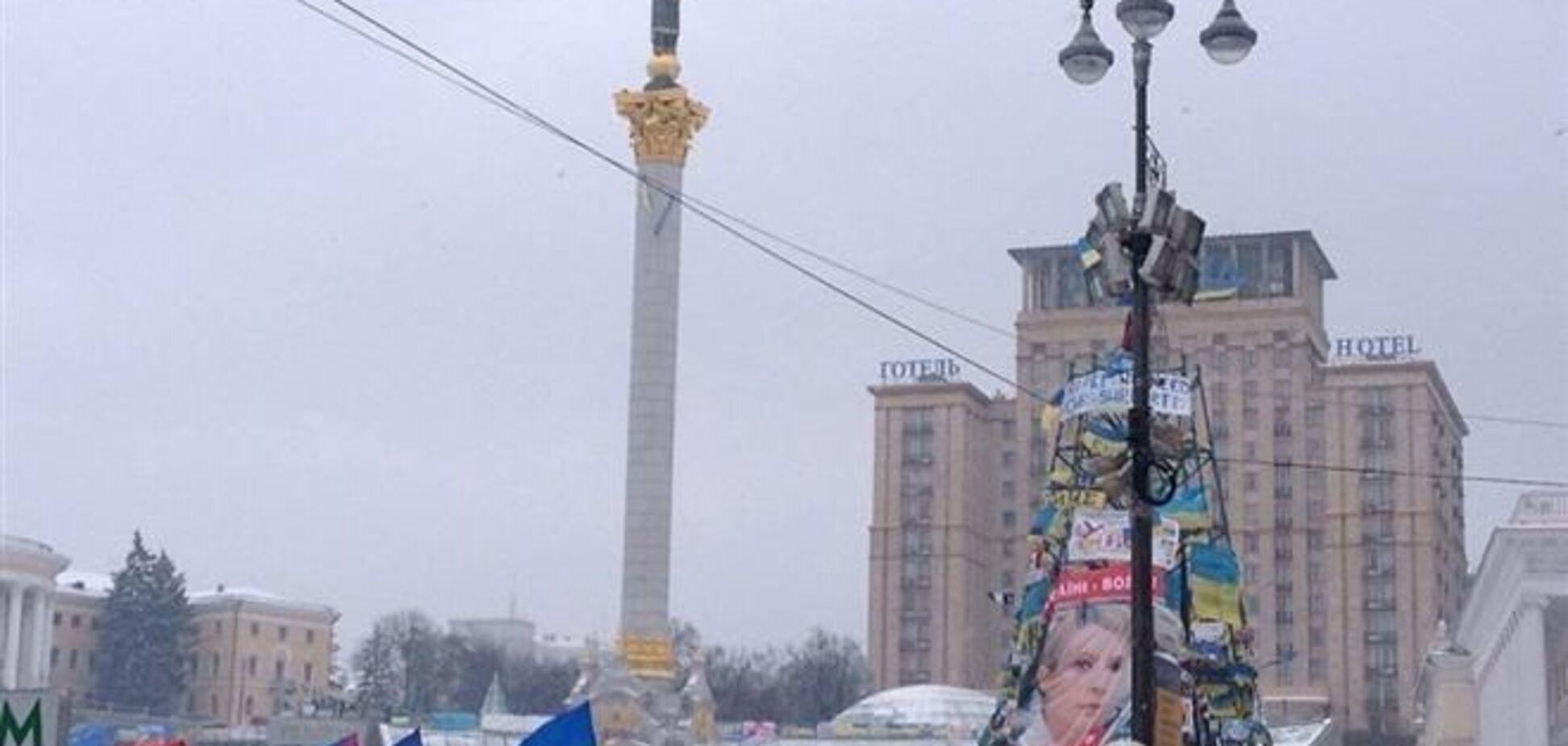 Подъезды к центру Киева перекрыты ГАИ