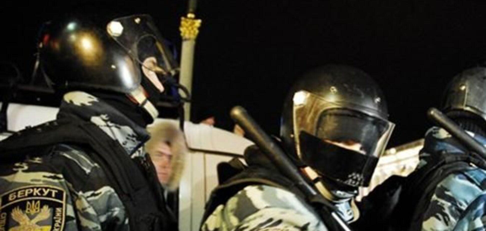 Львовский 'Беркут' отправили в Киев без щитов - 'Свобода'