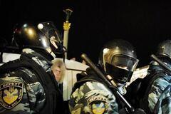 Львівський 'Беркут' відправили в Київ без щитів - 'Свобода'