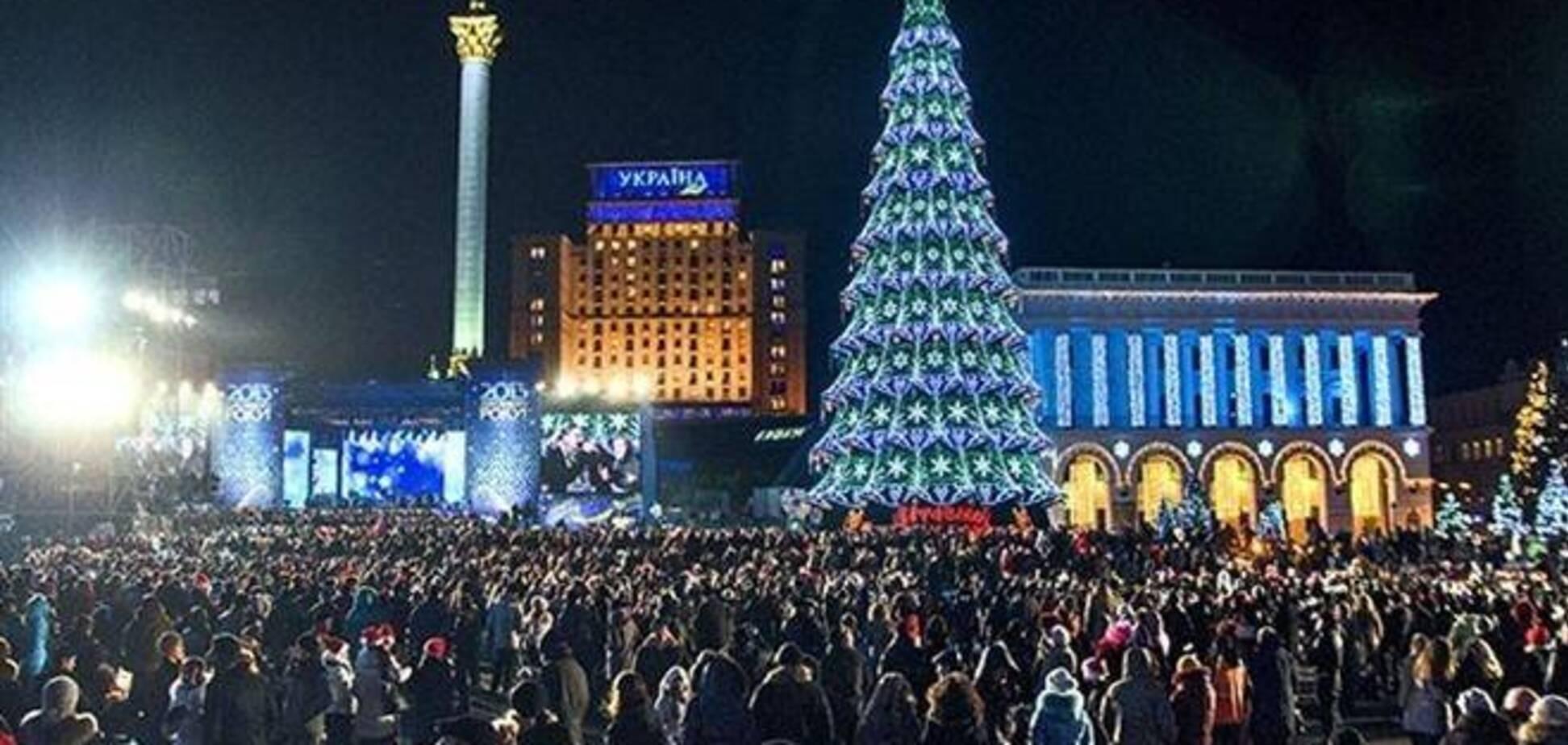 Новогодние концерты на Майдане Незалежности отменили