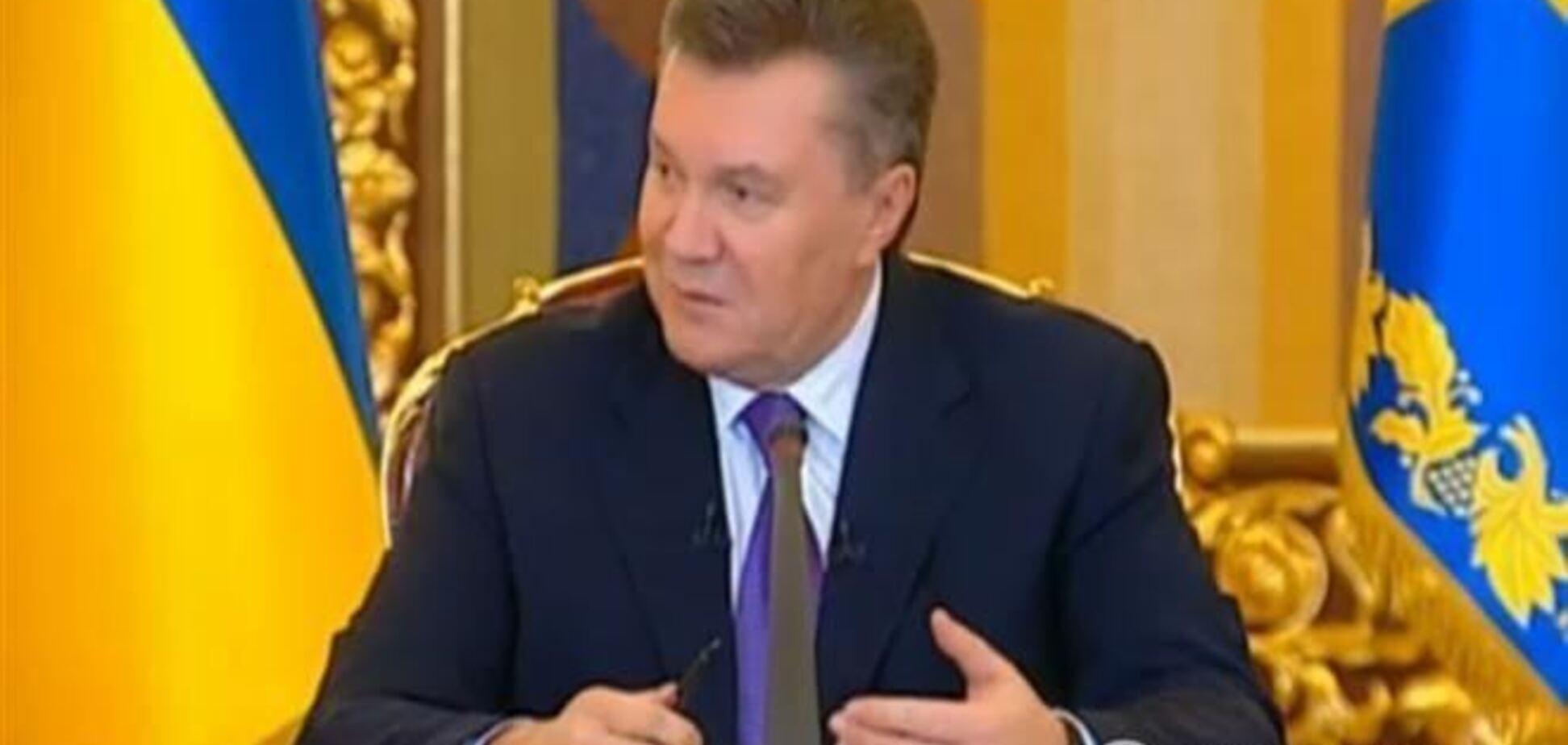 Десять тезисов Януковича