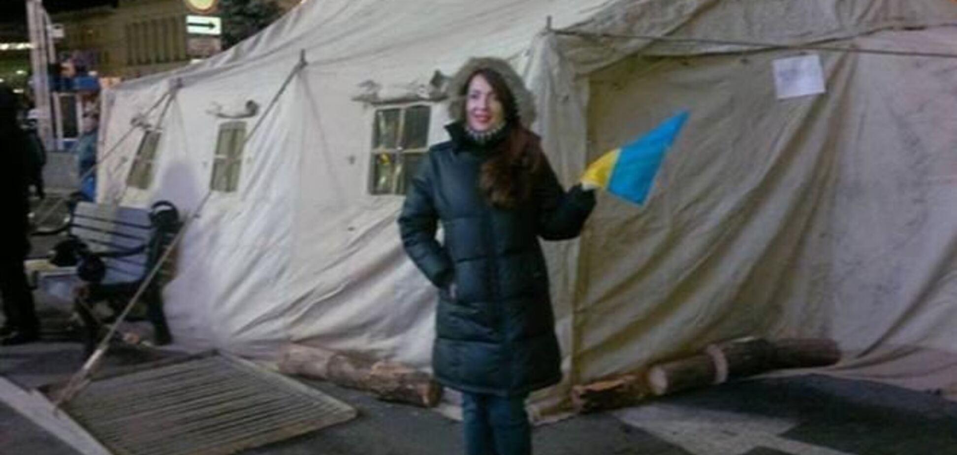 Звезда шоу 'Богатые тоже плачут' поддержала Евромайдан