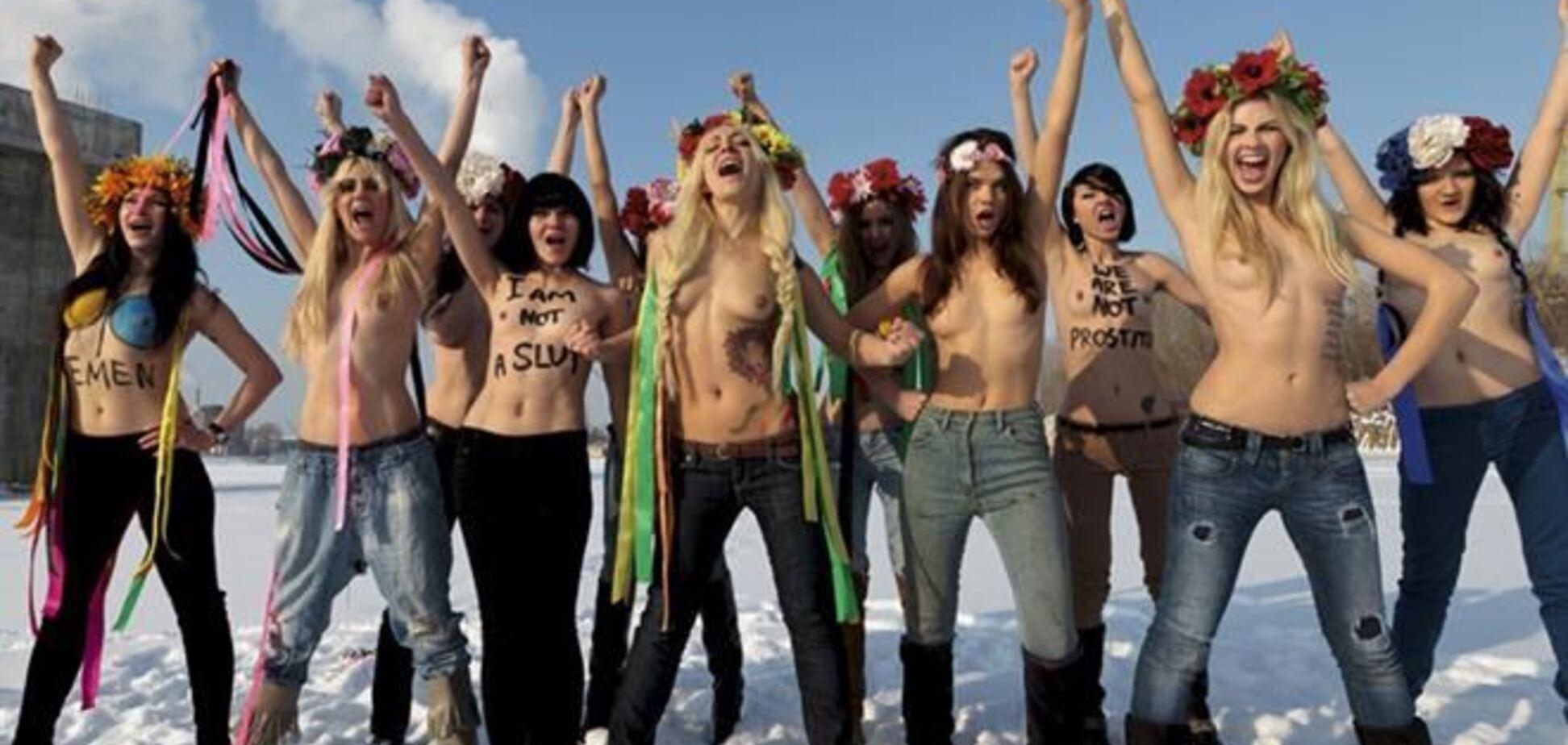 FEMEN порадовались за активисток Pussy Riot