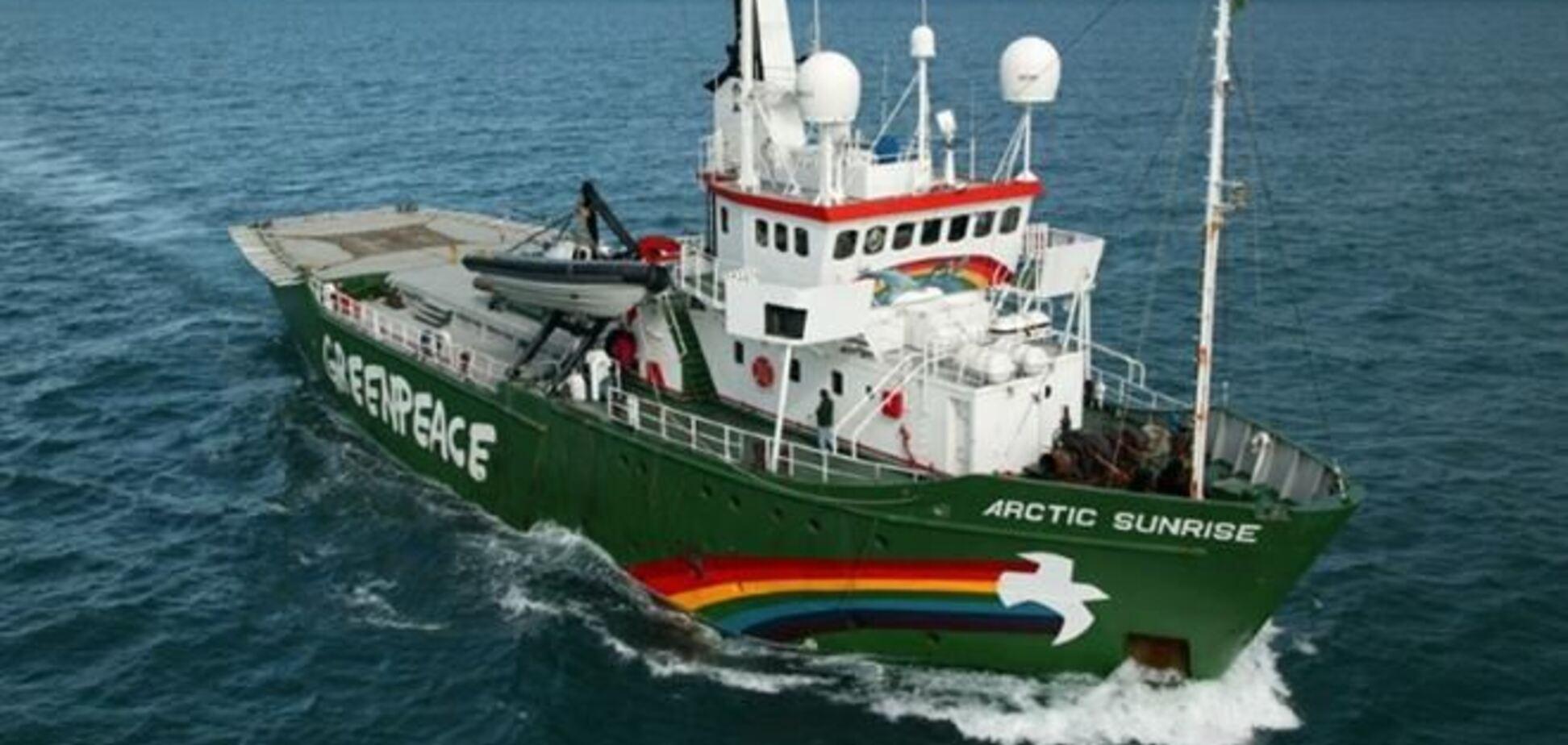 Іноземні активісти Greenpeace зможуть залишити Росію на цьому тижні