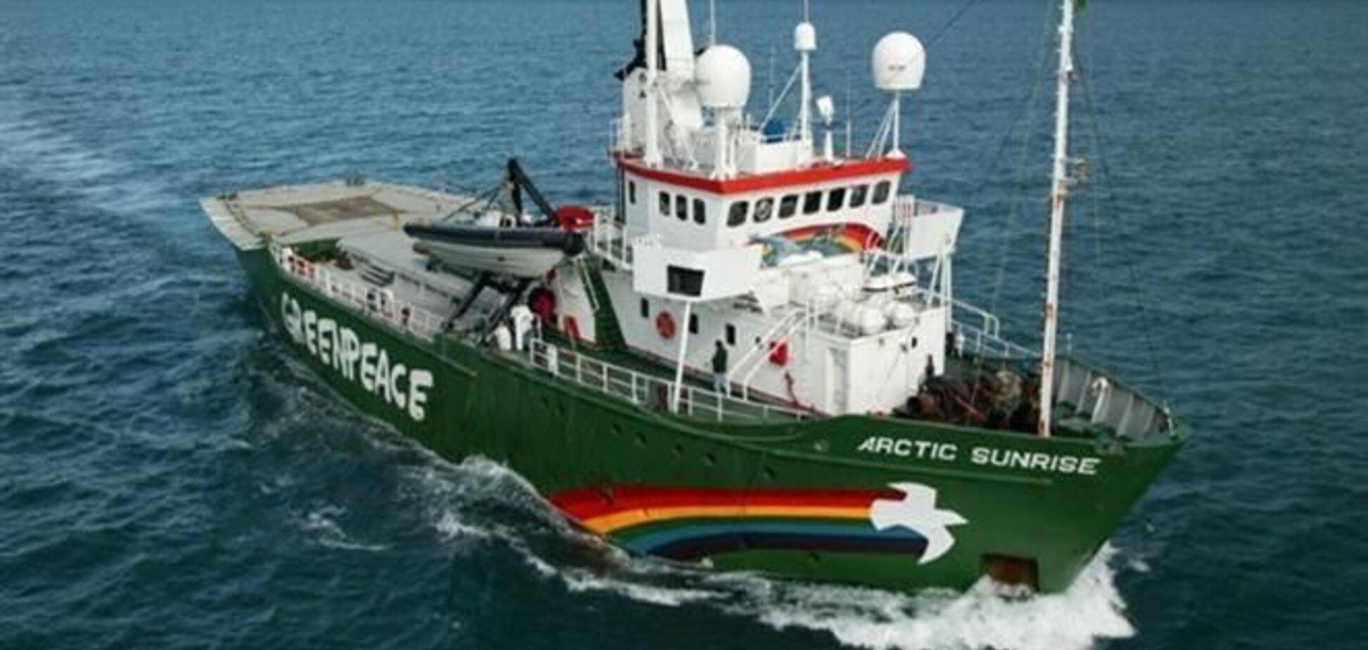 У Росії амністували першого члена екіпажу судна Greenpeace