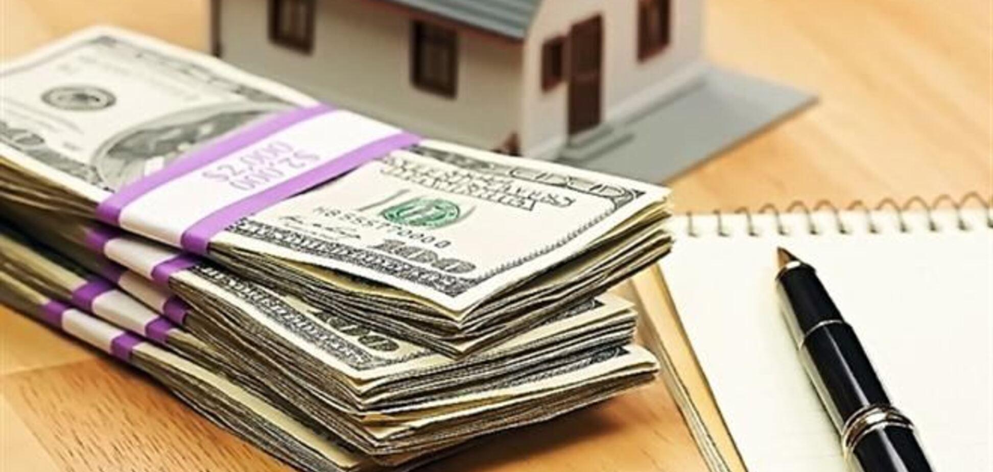 Украинцы предпочитают брать кредит на недвижимость в долларах