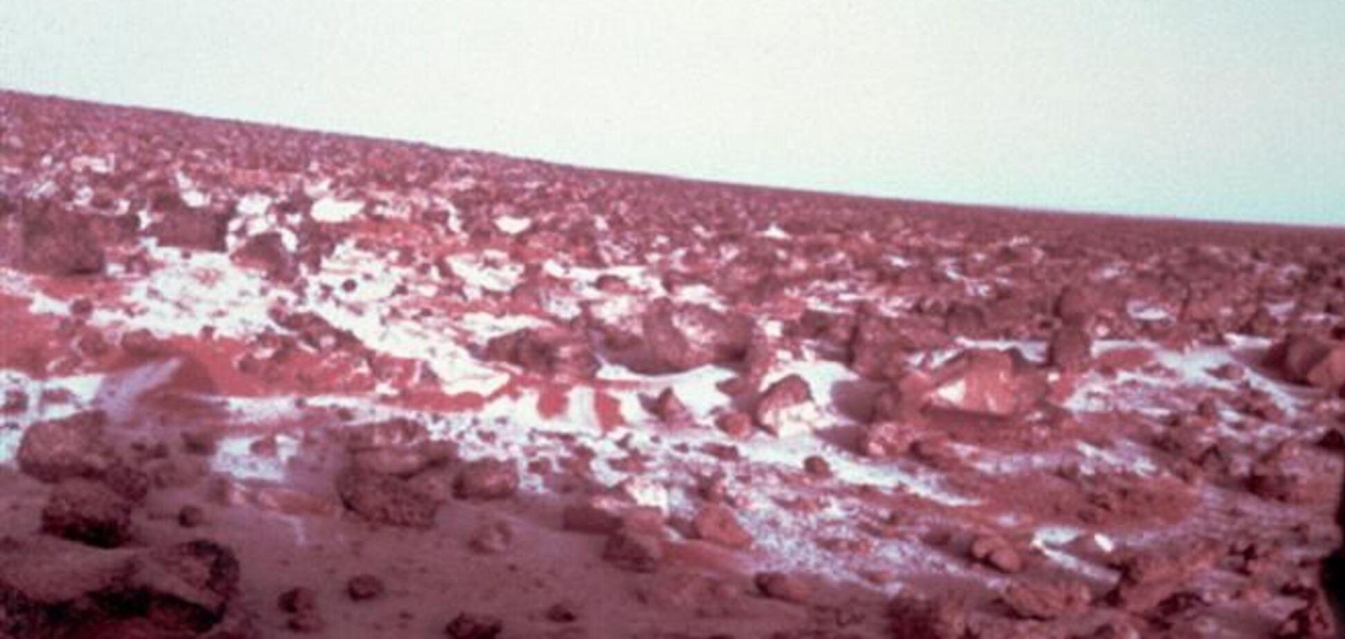 На Марсе ожидается снежный Новый год