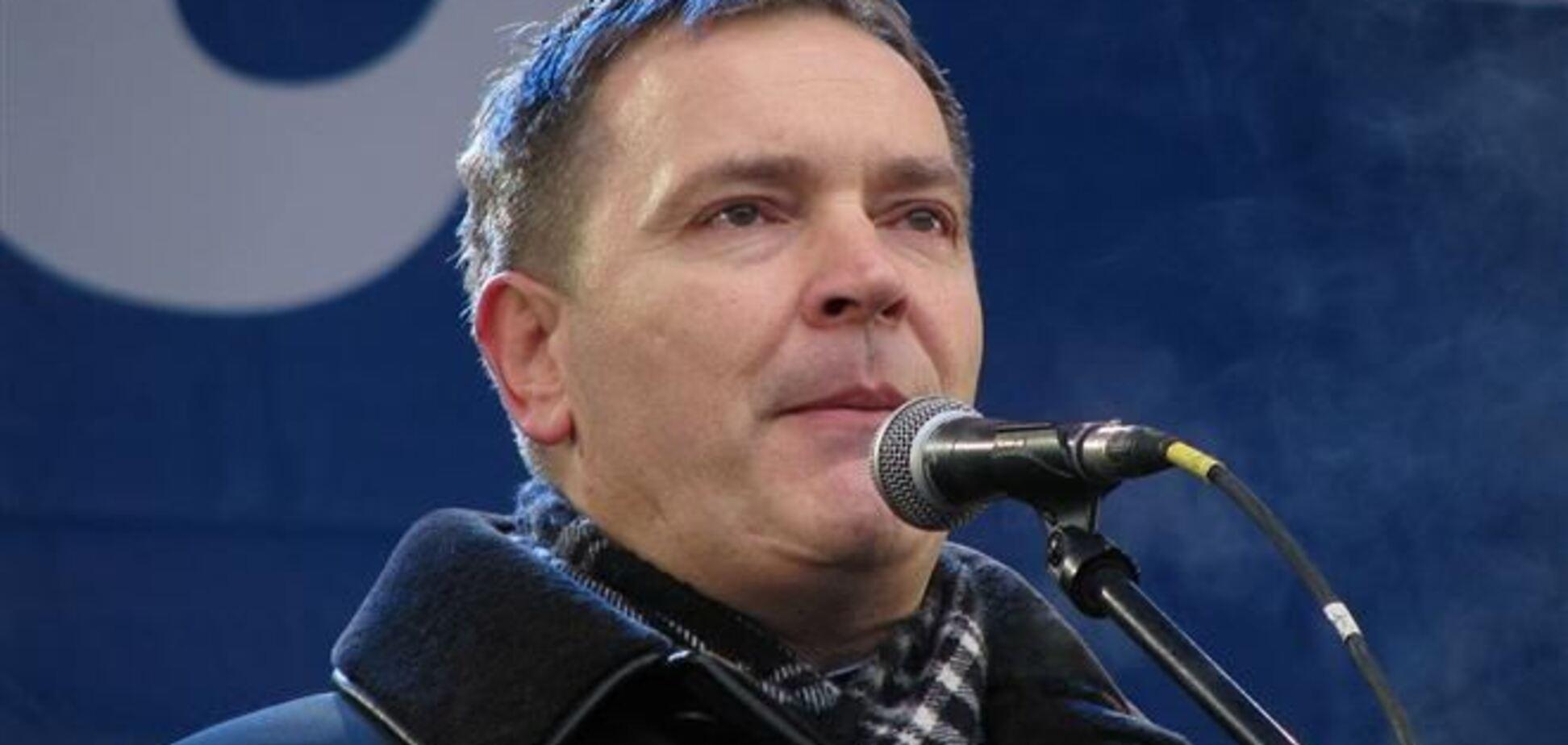 Колесниченко обозвал митингующих 'подонками'