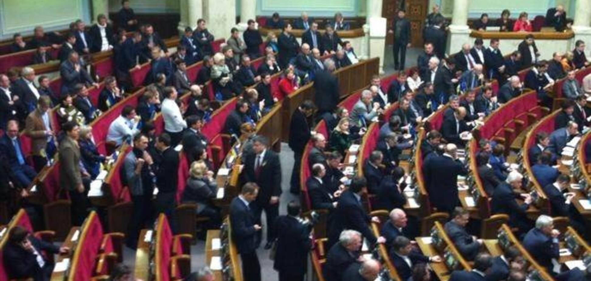Тягнибок с трибуны Рады призвал украинцев к революции