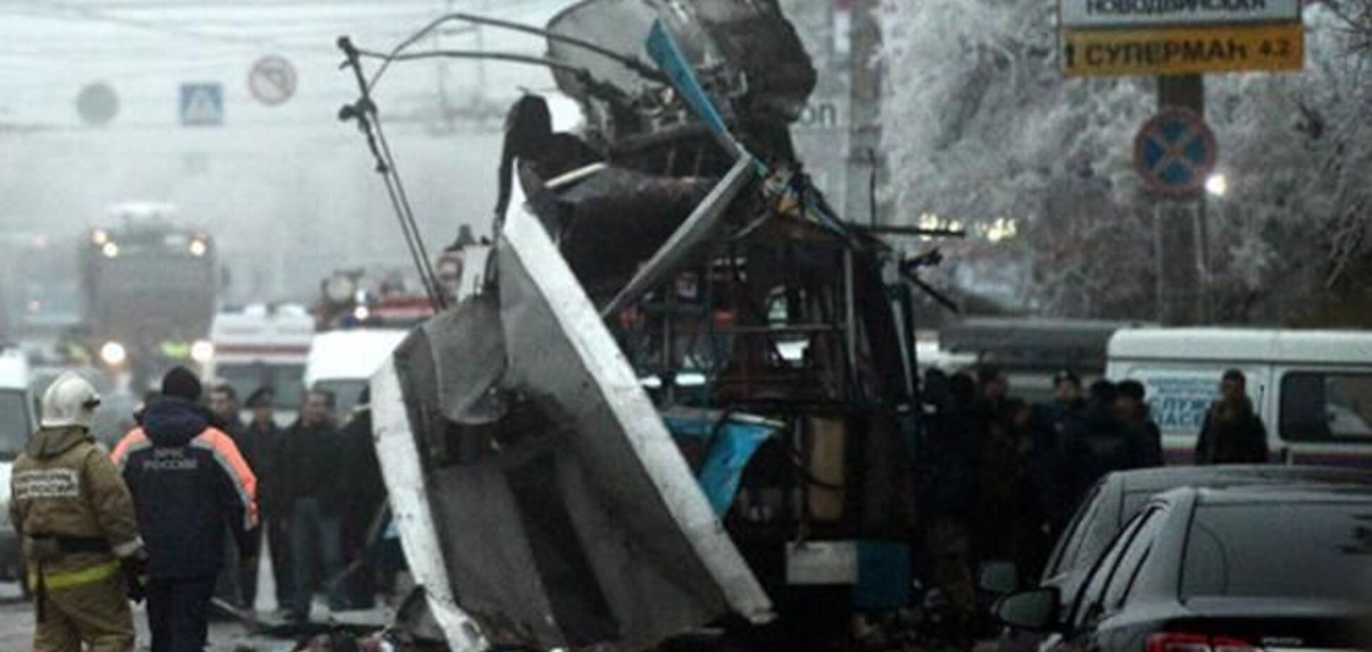 Водитель взорванного в Волгограде троллейбуса остался жив