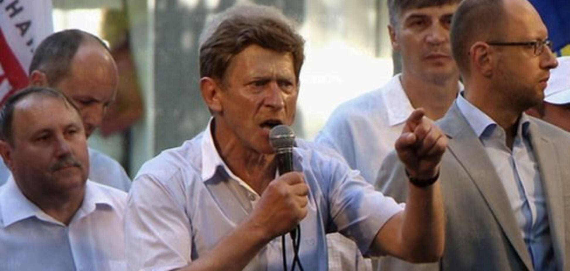 Бютовец просит Забзалюка отозвать заявление о сложении мандата