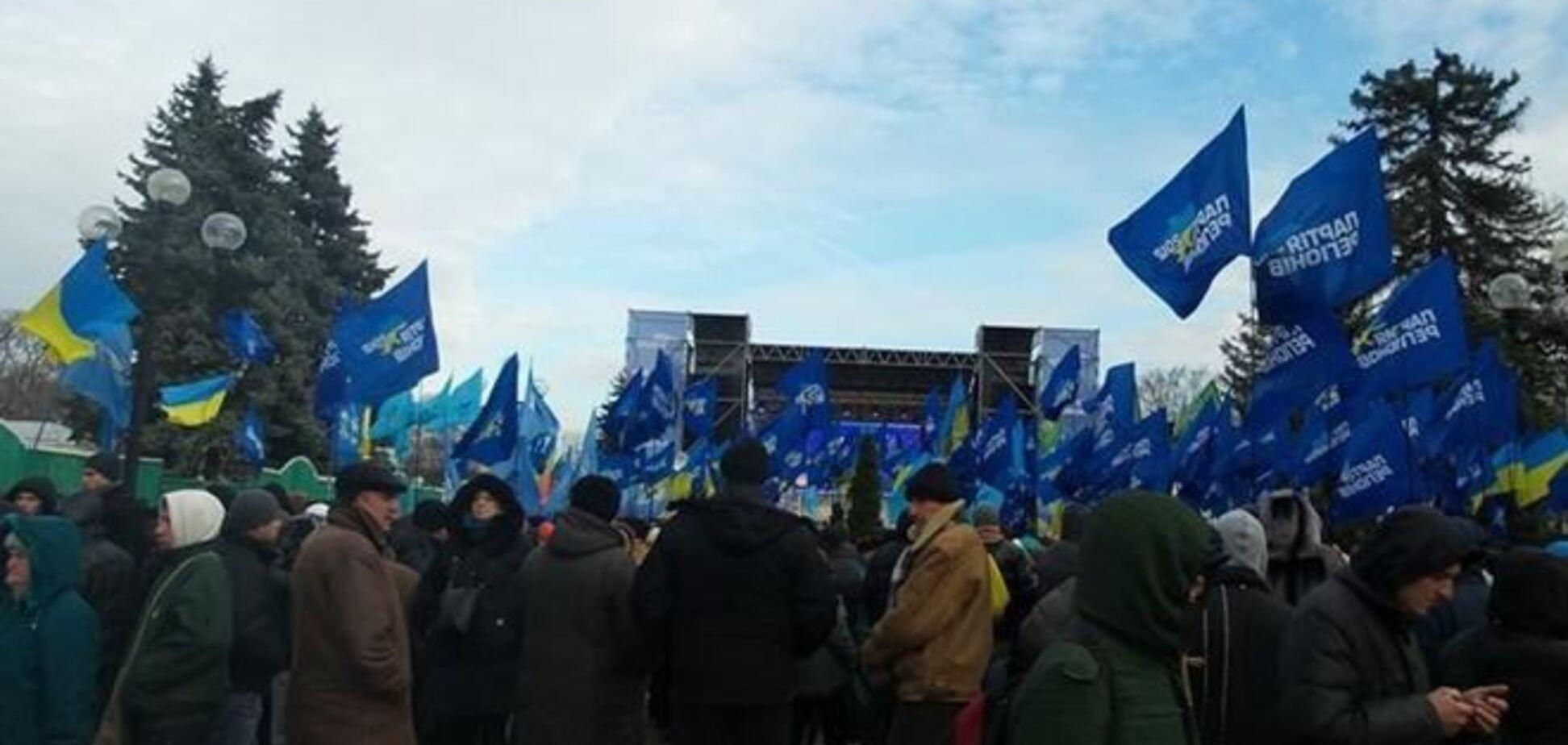 На митинг ПР в Киеве пришли 6 тысяч человек - милиция