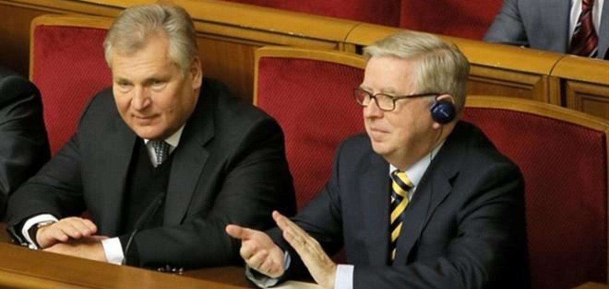 Глава Европарламента хочет продлить миссию Кокса-Квасневского в Украине