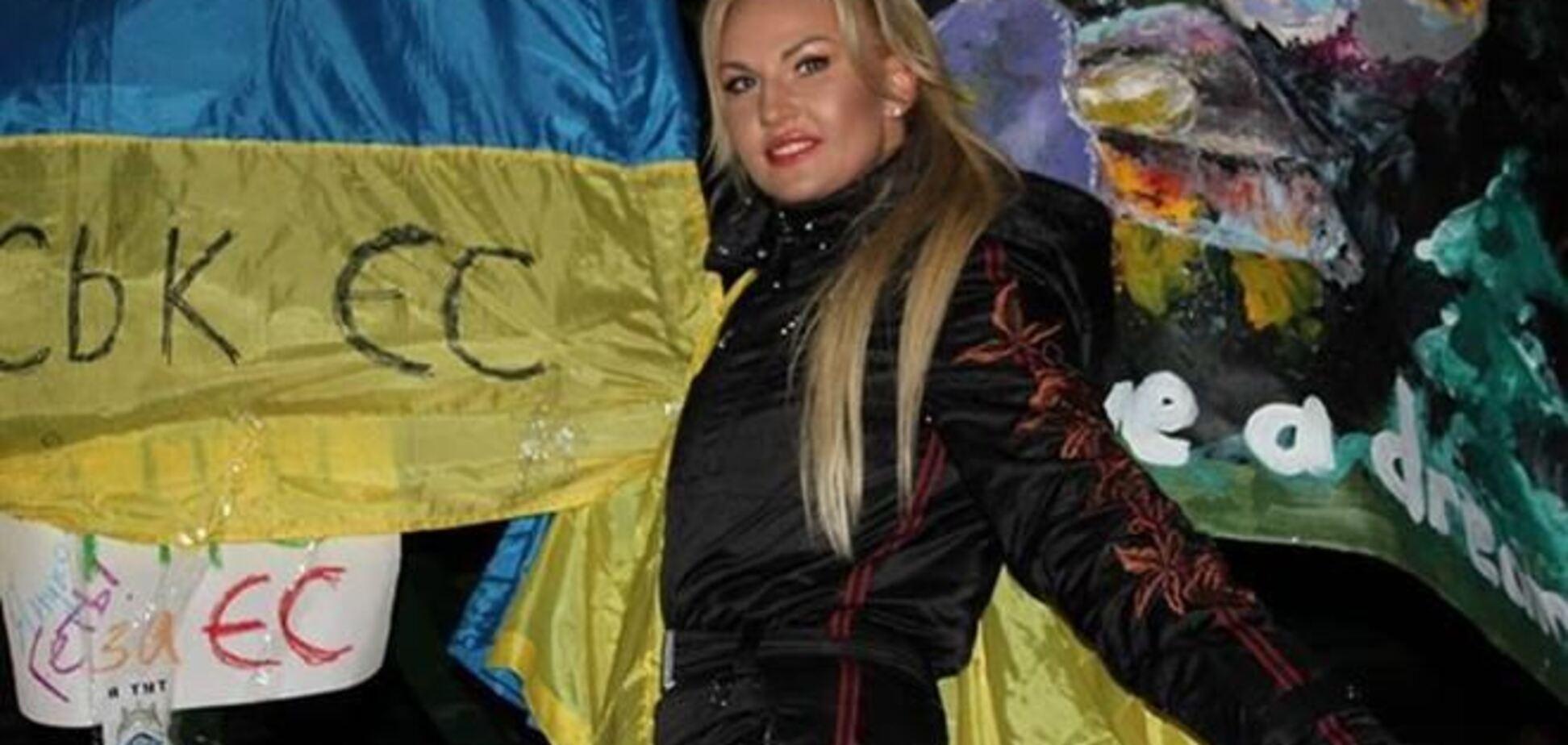 Камалия показала и рассказала, как и с чем ходила на Майдан