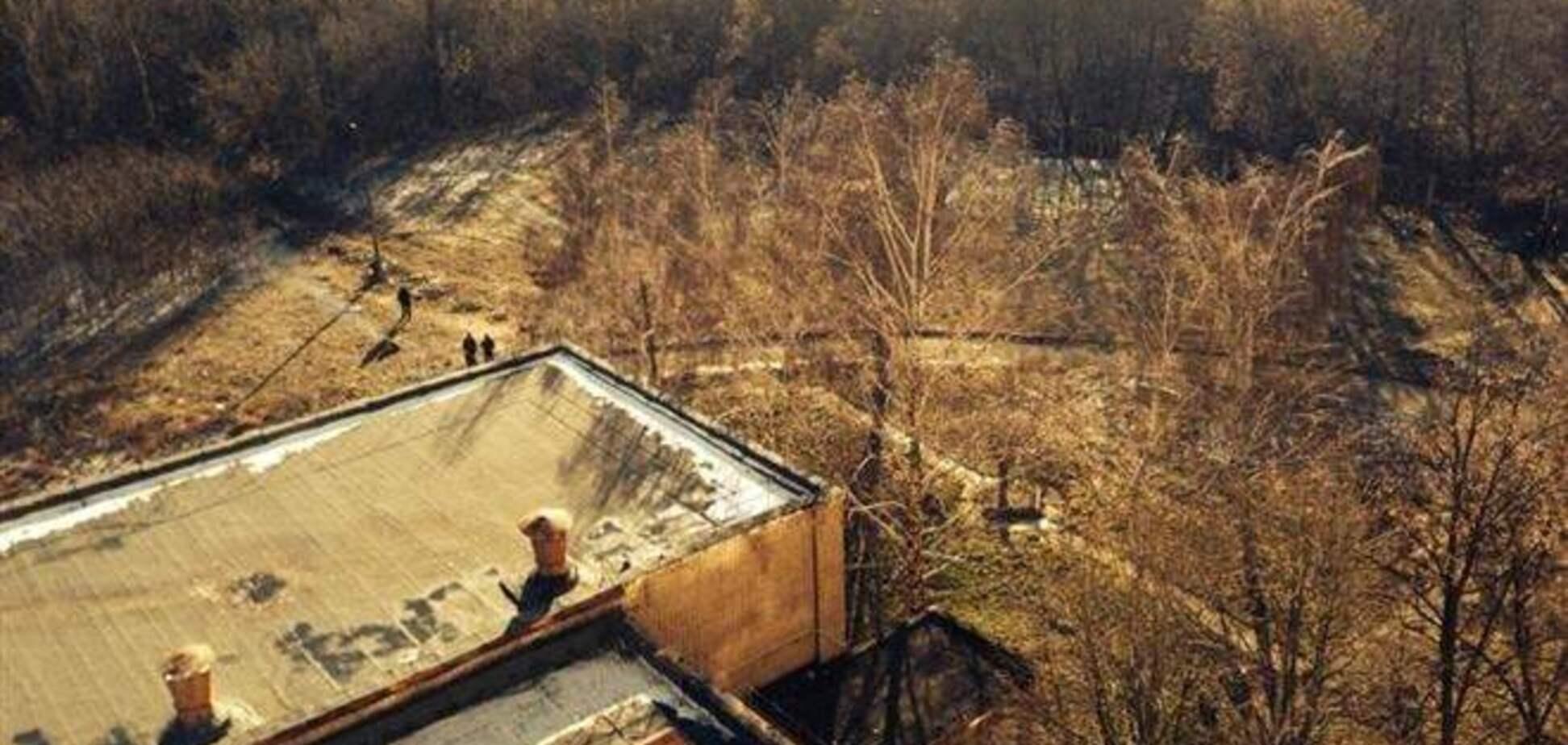 Возле больницы Тимошенко готовят вертолетную площадку?