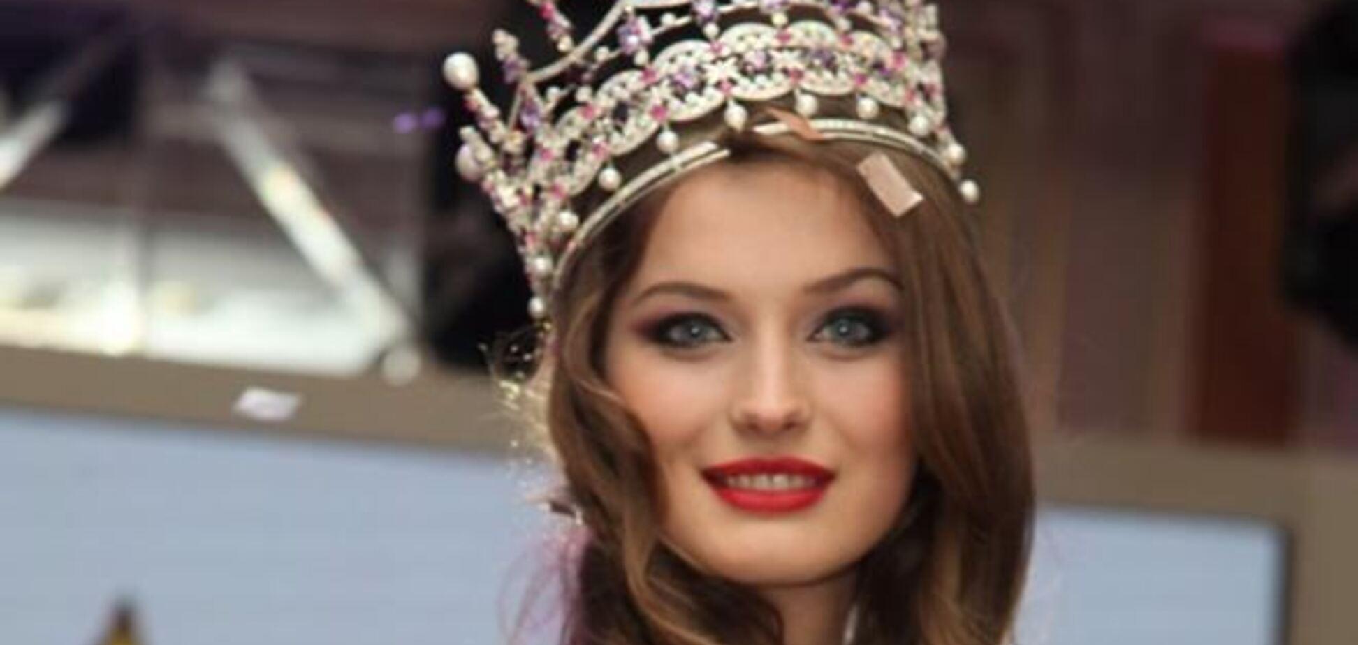 'Мисс Украина' ночует на Майдане вместе с митингующими