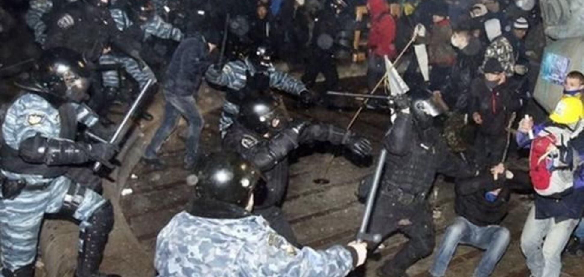 Гриценко получил записи радиообмена 'Беркута' во время разгона Евромайдана