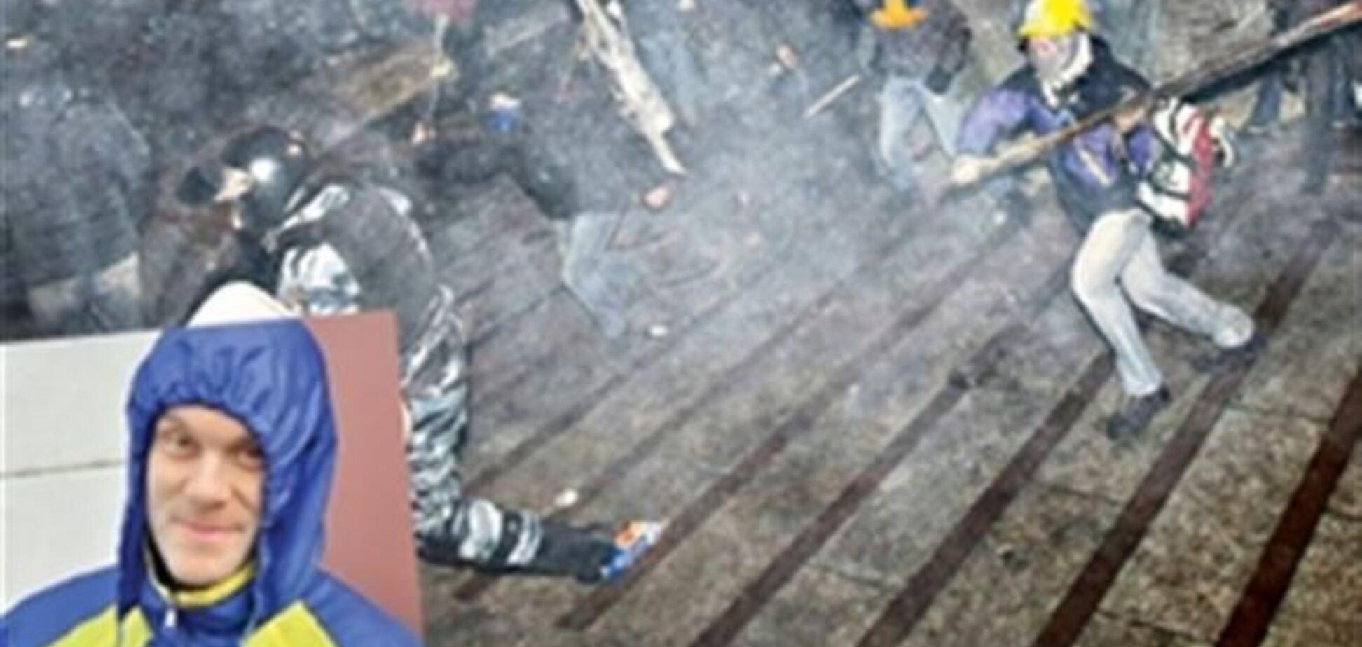 Боец 'Беркута': события на Майдане – хитрые политические игры