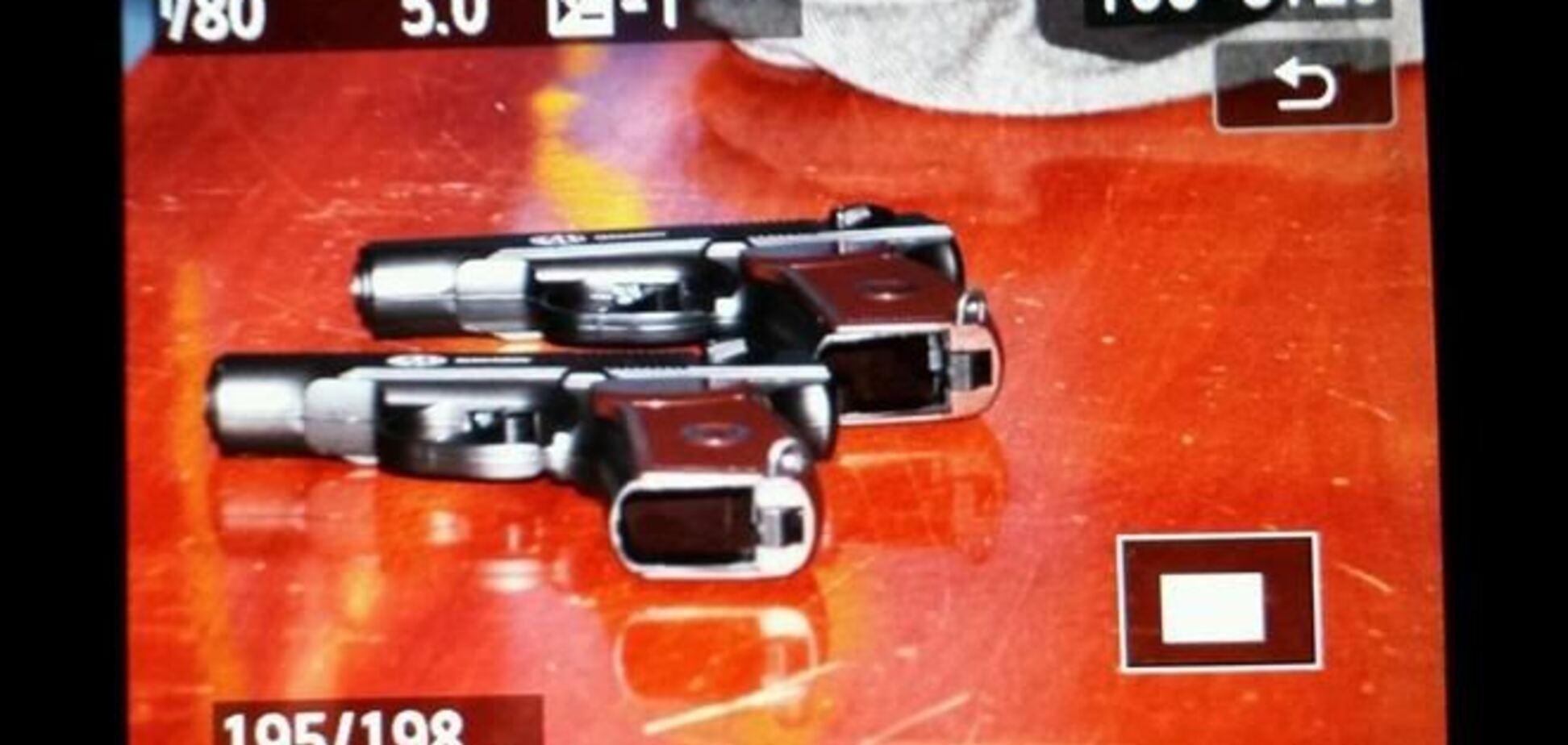 На Евромайдане поймали парней с оружием