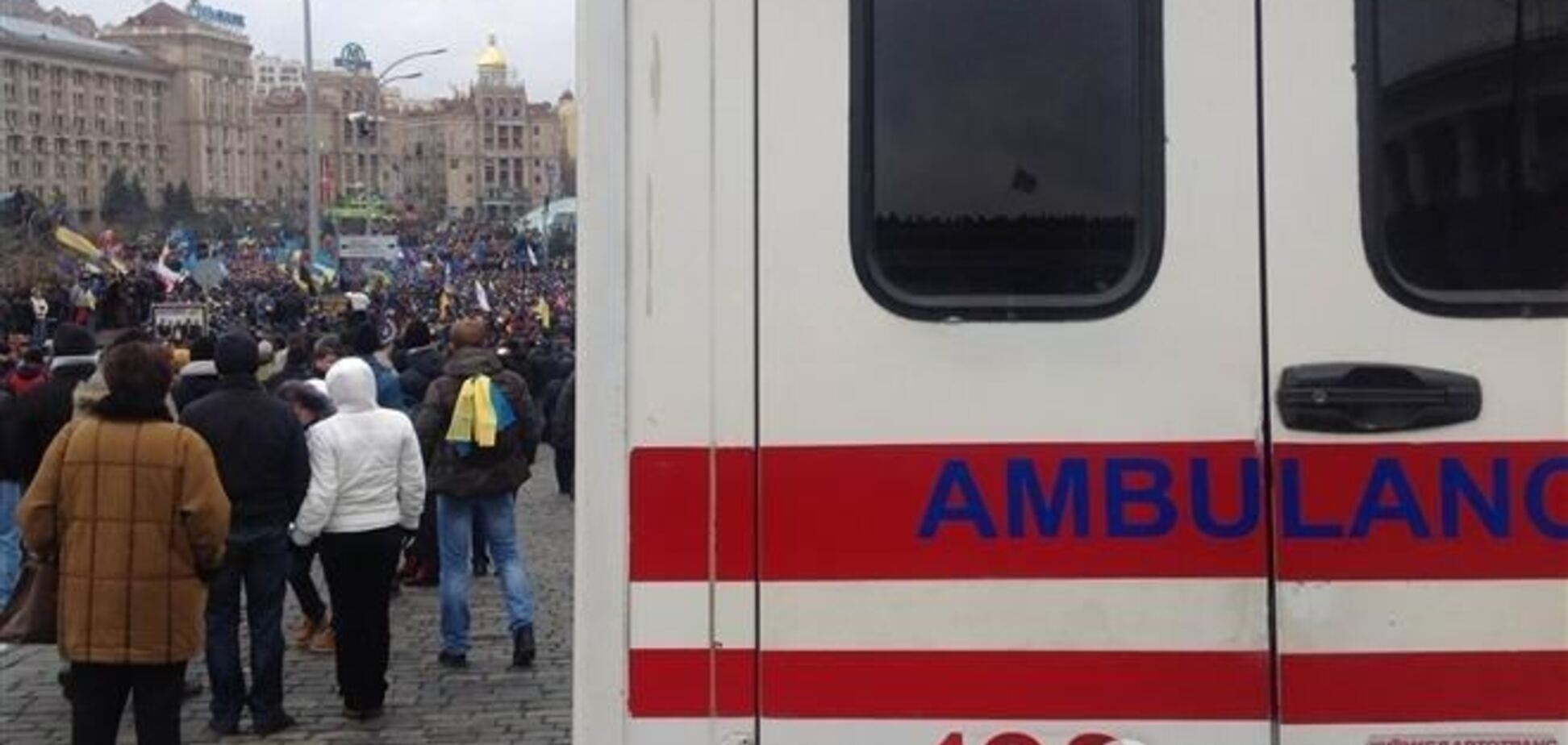 Депутат ВР заявляет о готовящейся провокации с избиением митингующих