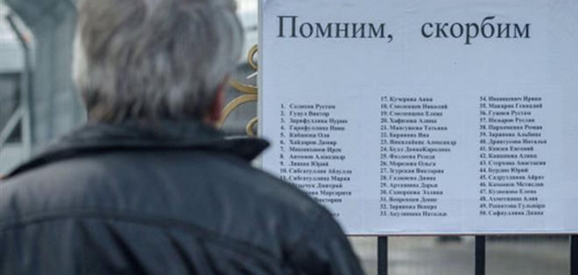 Опознаны все жертвы авиакатастрофы в Казани