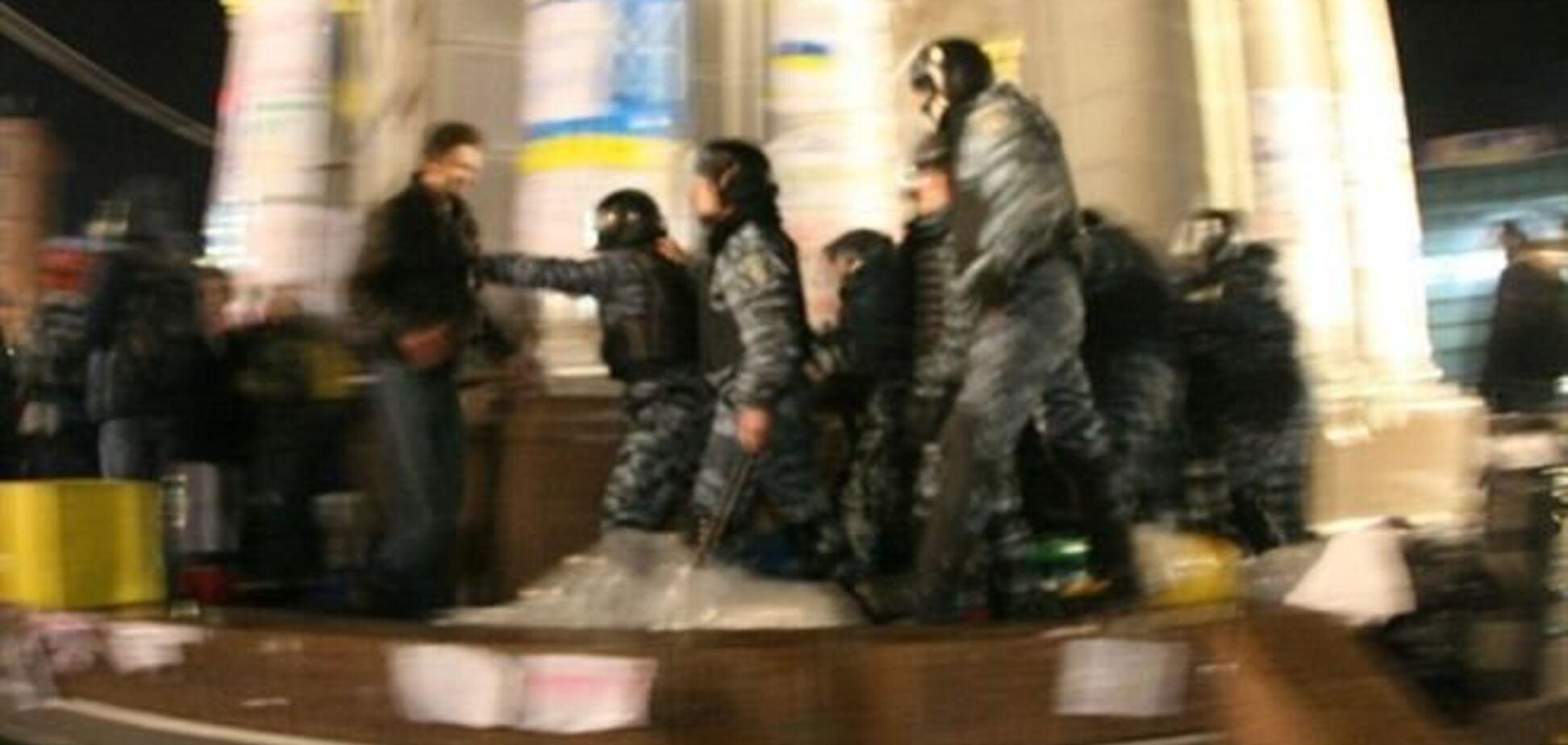 Опубликованы переговоры 'Беркута' во время разгона Евромайдана
