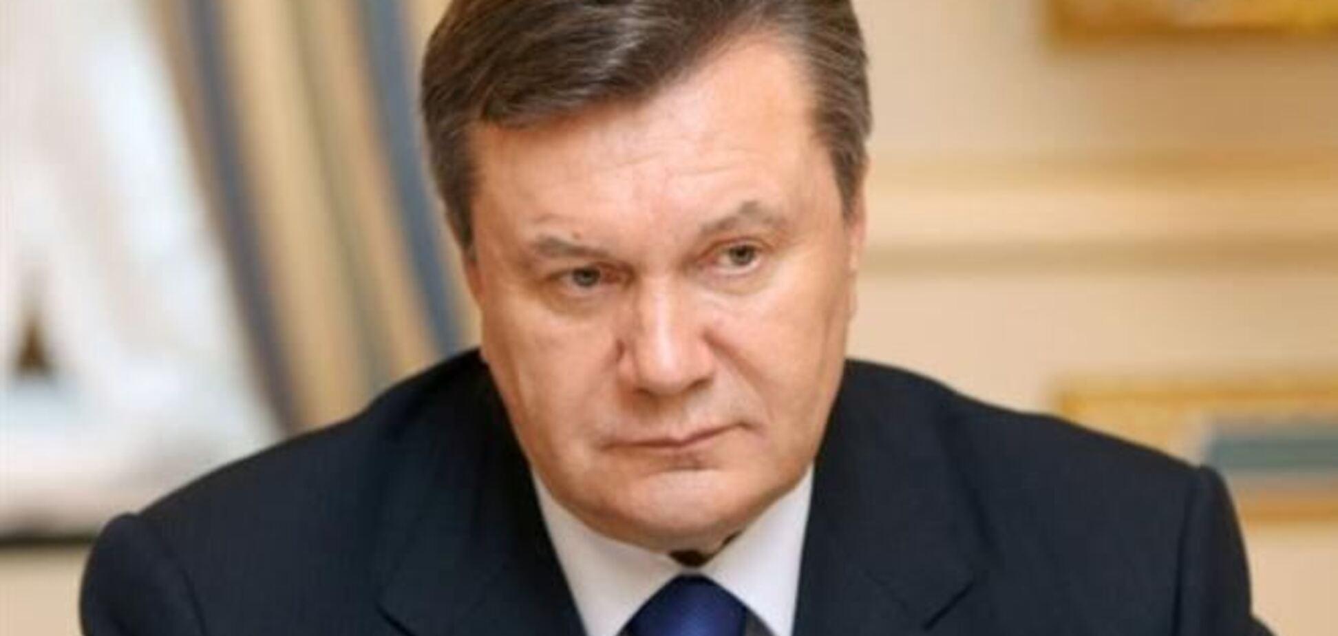 Янукович отложил визит на Мальту из-за Евромайдана