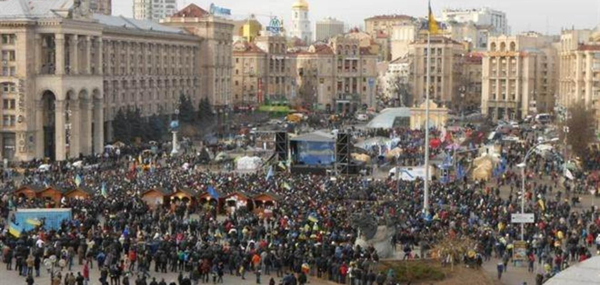 За дни Евромайдана отравились едой четыре активиста