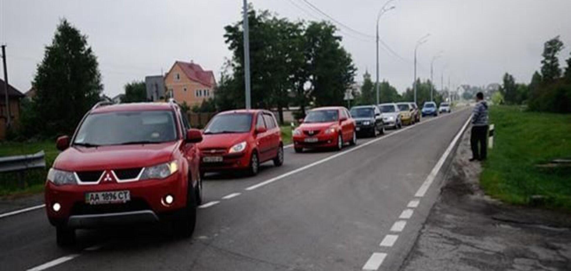 Евромайдановцы направились на Межигорье