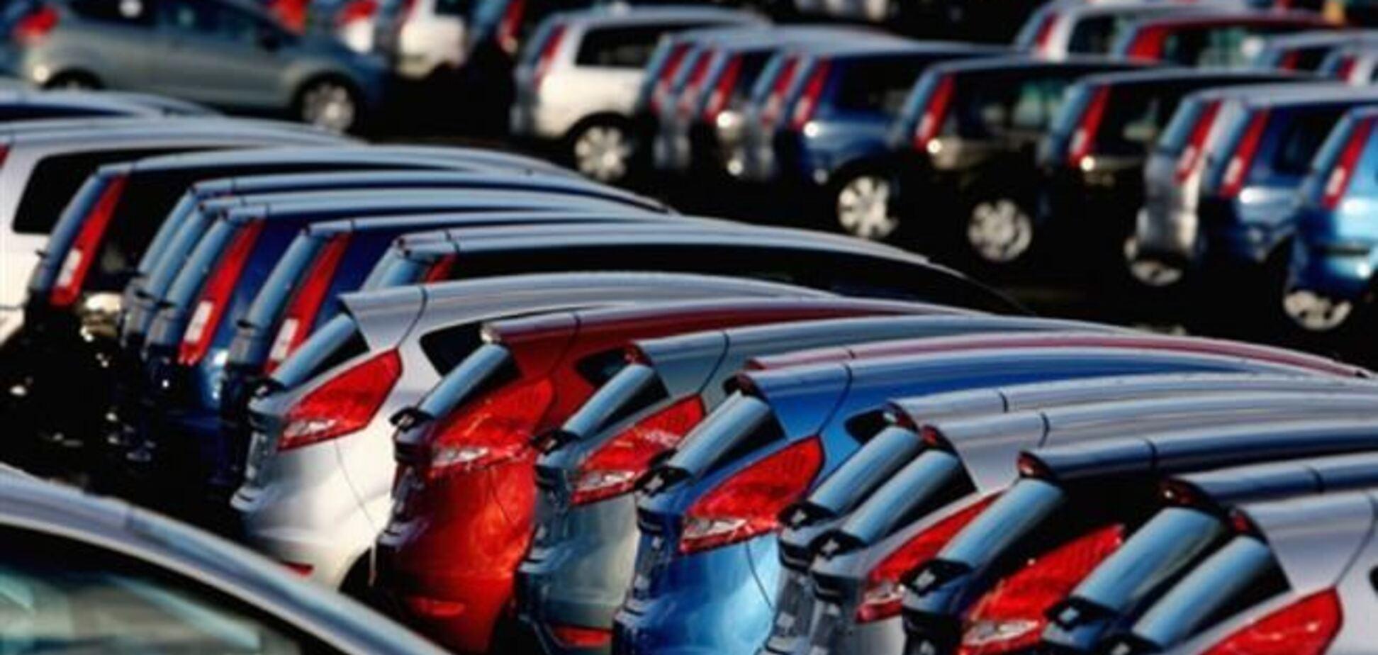 Продажи новых легковушек в Украине упали почти на 4%