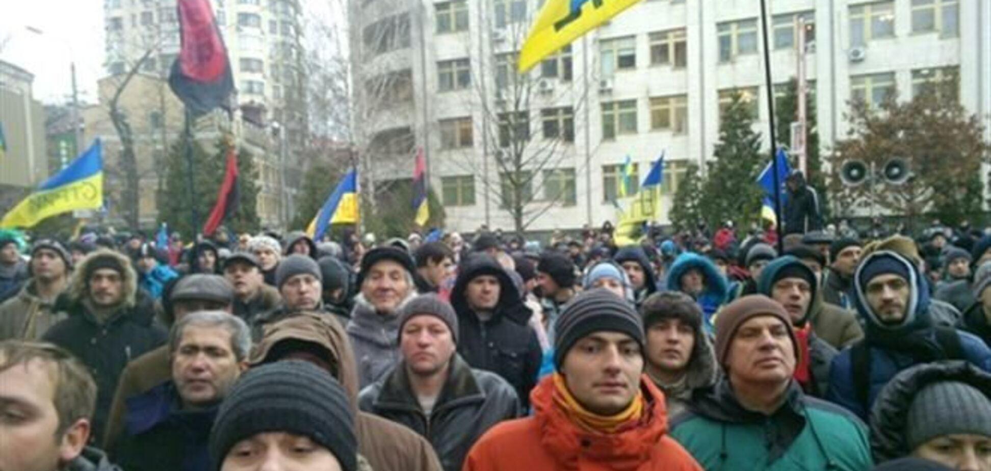 Киевский райсуд пикетируют из-за дела Дзиндзи