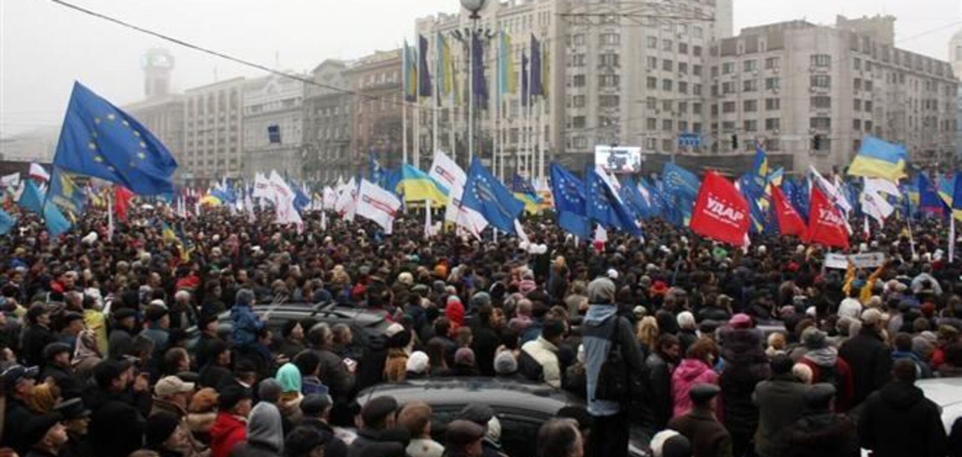 Оппозиция созывает украинцев на очередное Народное вече