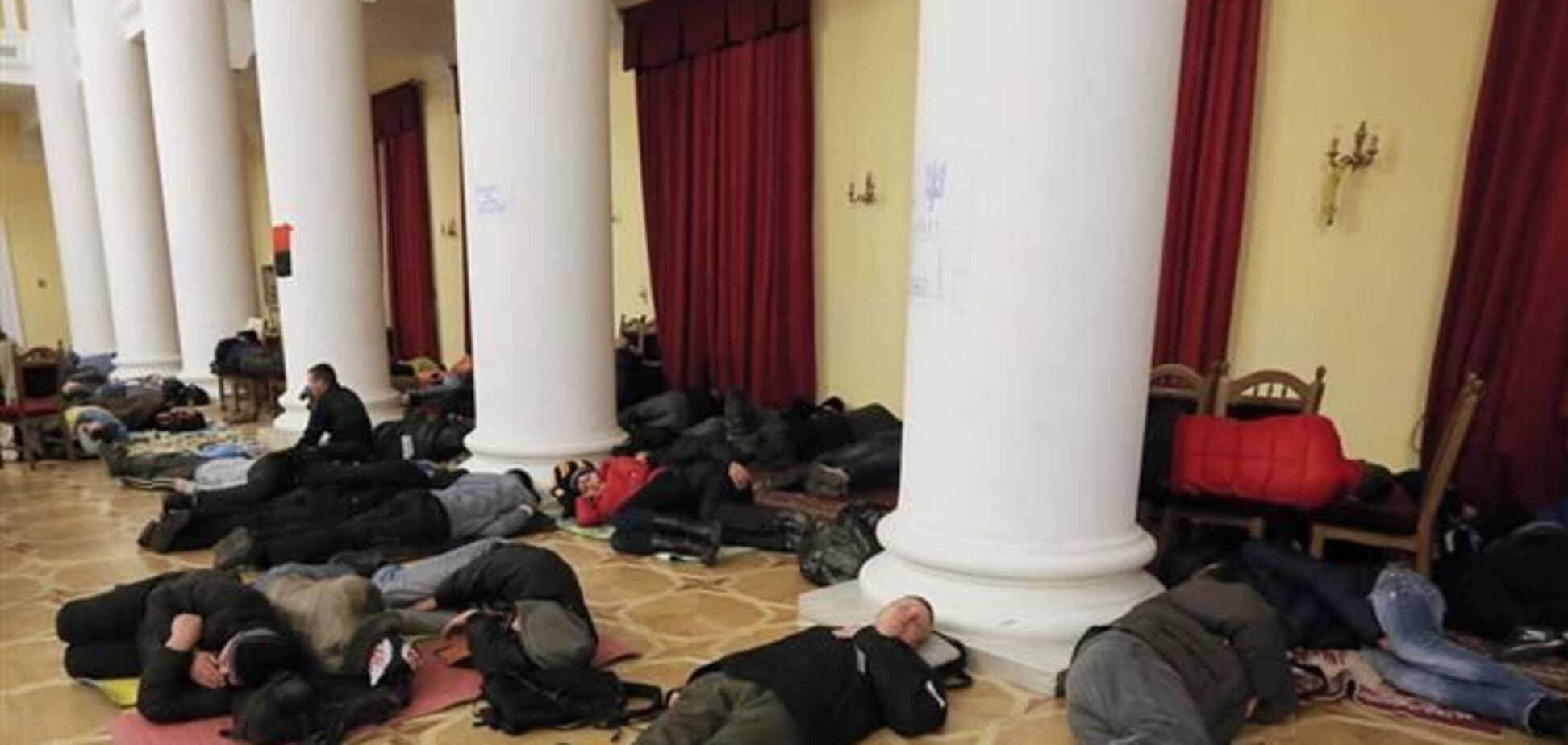 Здание КГГА уже продезинфицировали - СЭС
