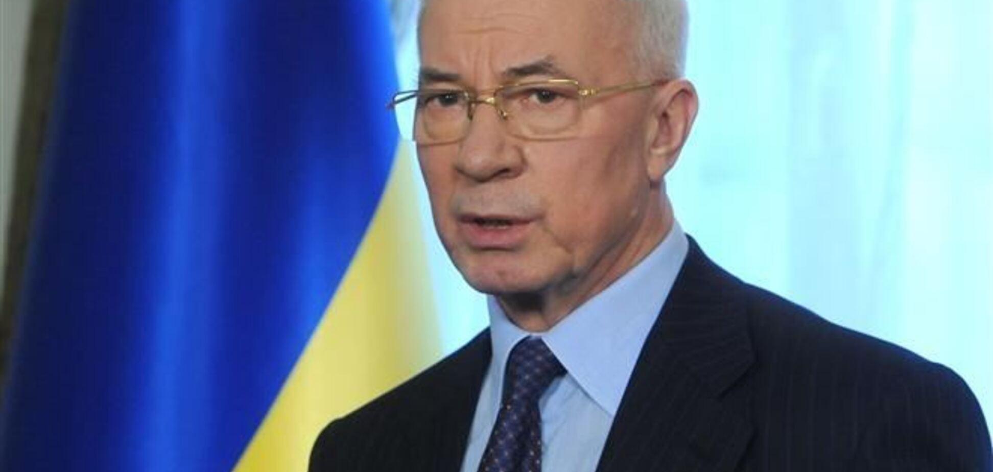 Азаров заявив, що Янукович і Путін про ТЗ в Сочі не говорили