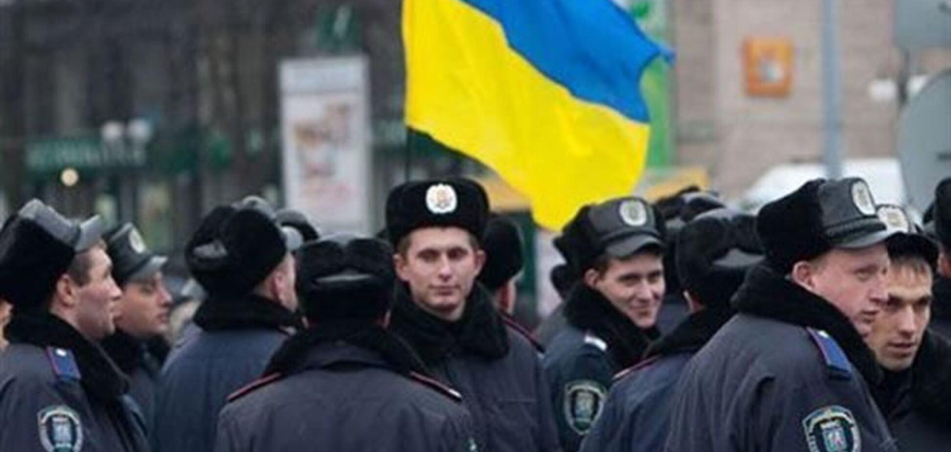 Милиция окружила киевский телецентр