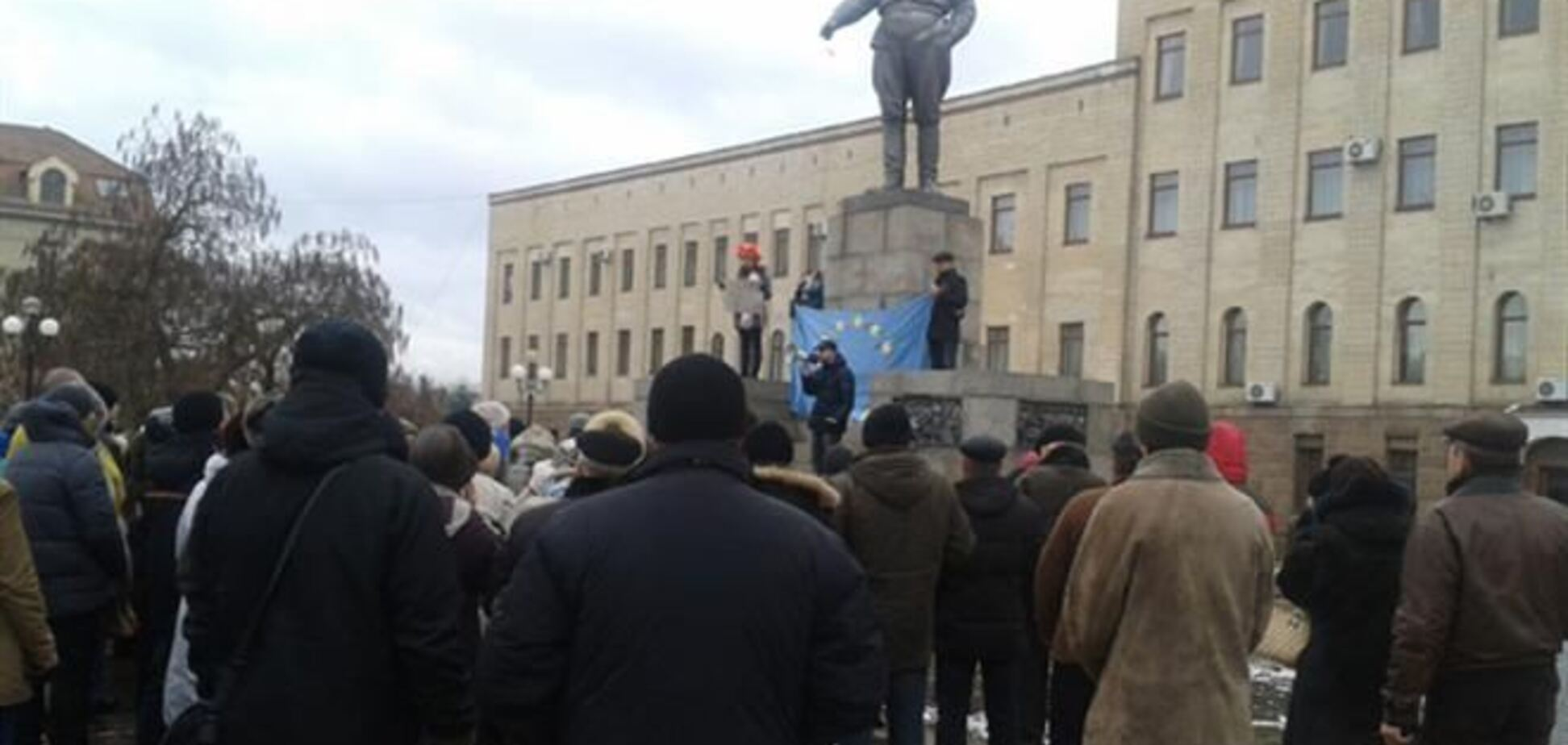Митинги проходят в Харькове, Виннице, Тернополе, Николаеве, Кировограде, Львове, Одессе, Полтаве
