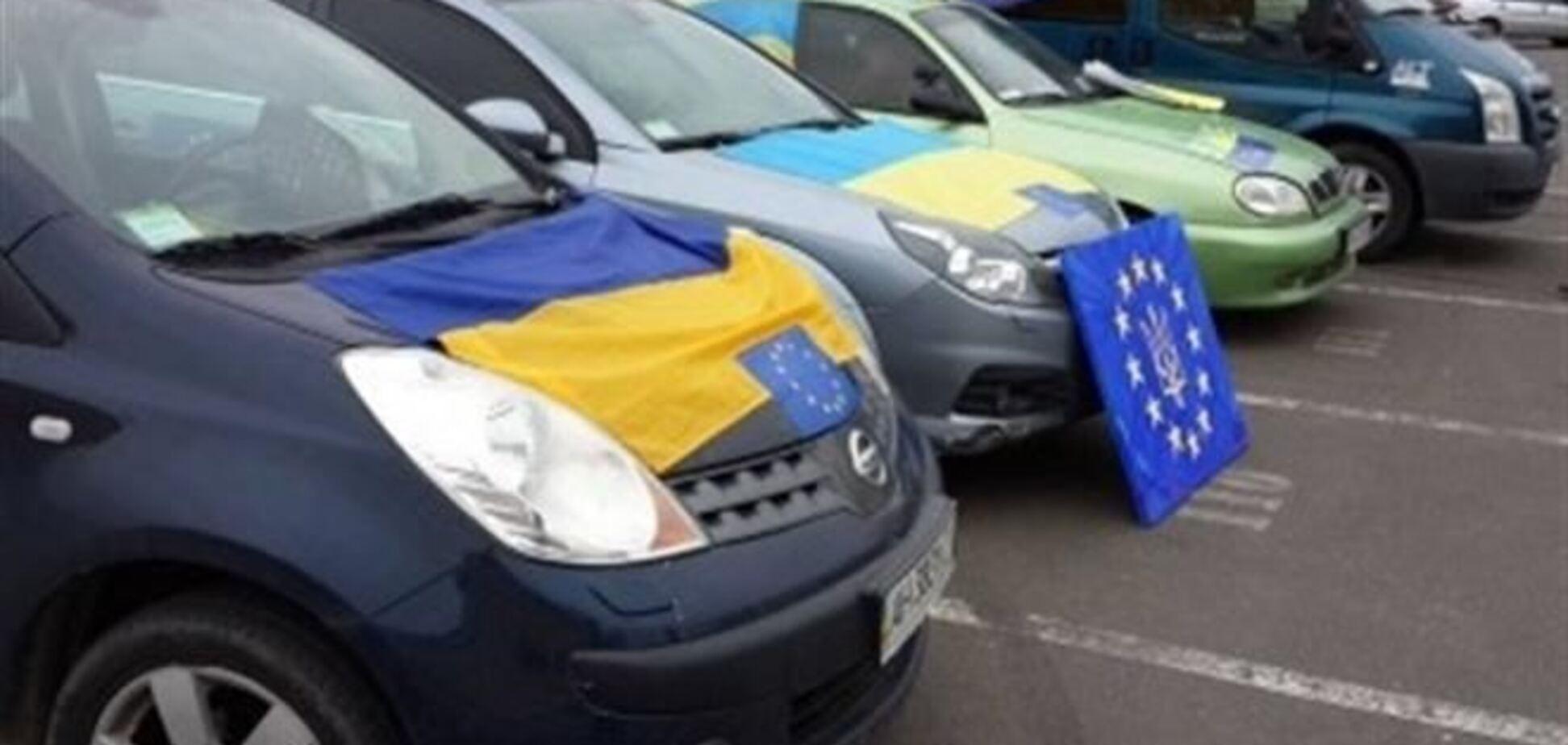 Одесситов, которые ехали на Евромайдан, забросали камнями