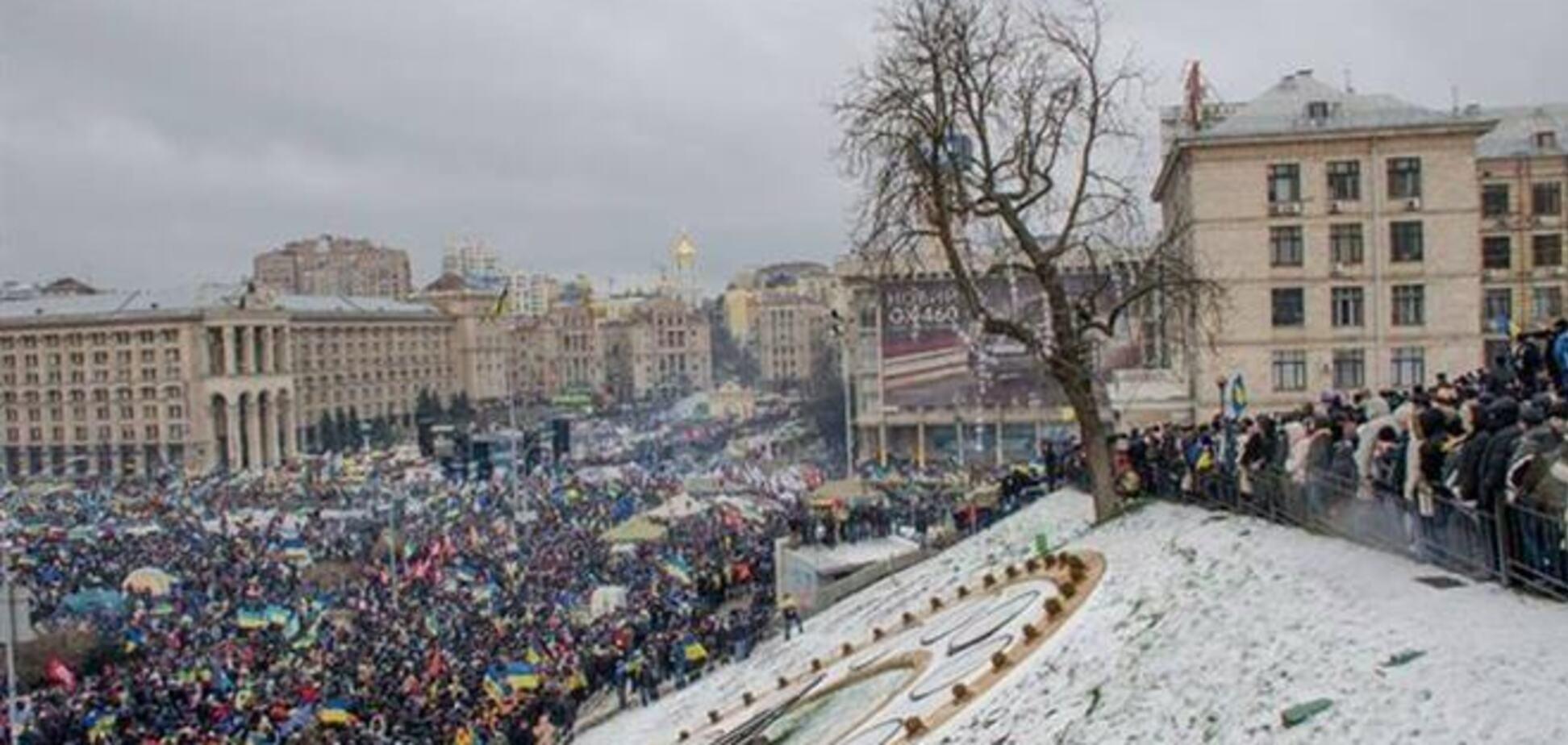 Центр Киева остался без мобильной связи