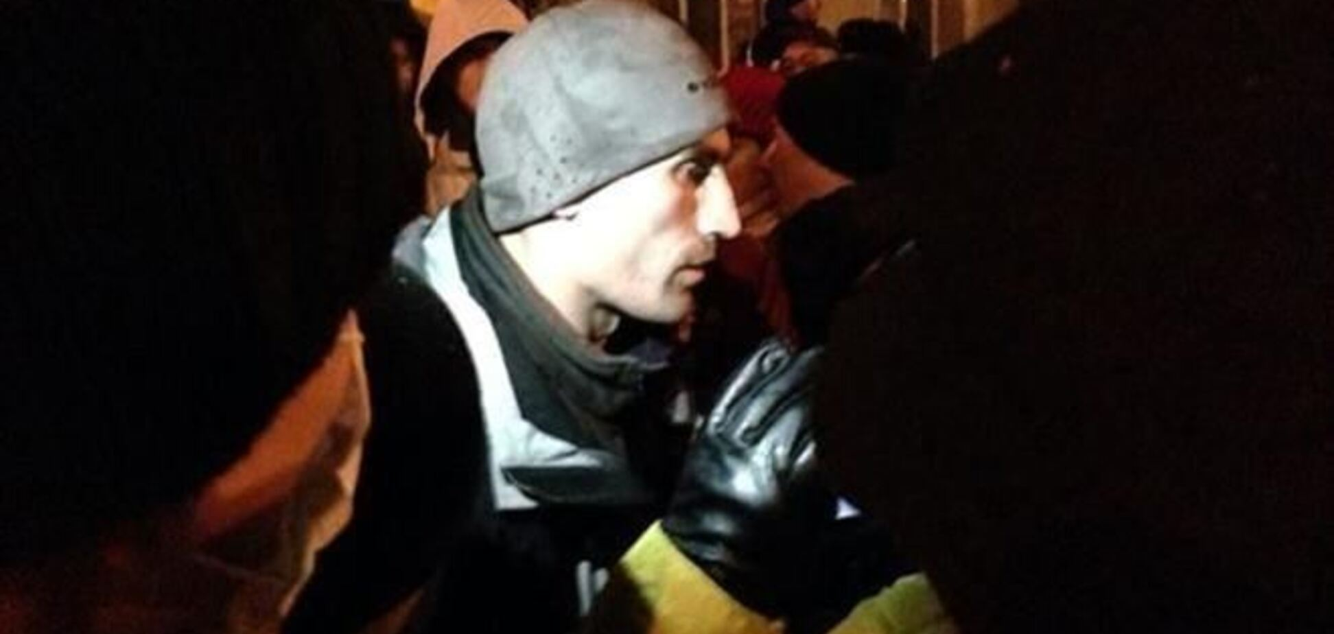 Милиция не нашла у пойманного на Евромайдане провокатора-сбушника оружие