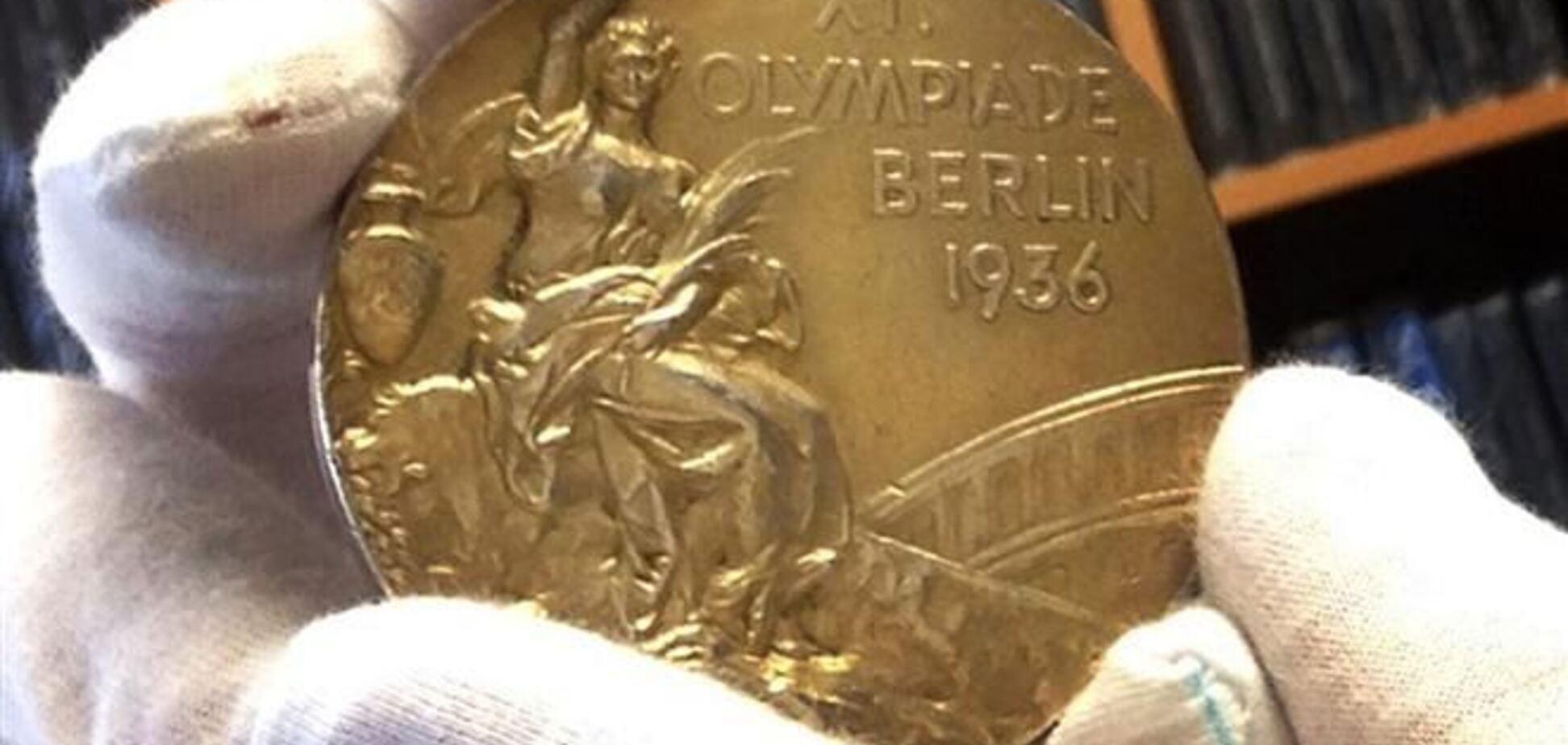 Олимпийское 'золото' 1936 года продано на аукционе за $1,5 млн