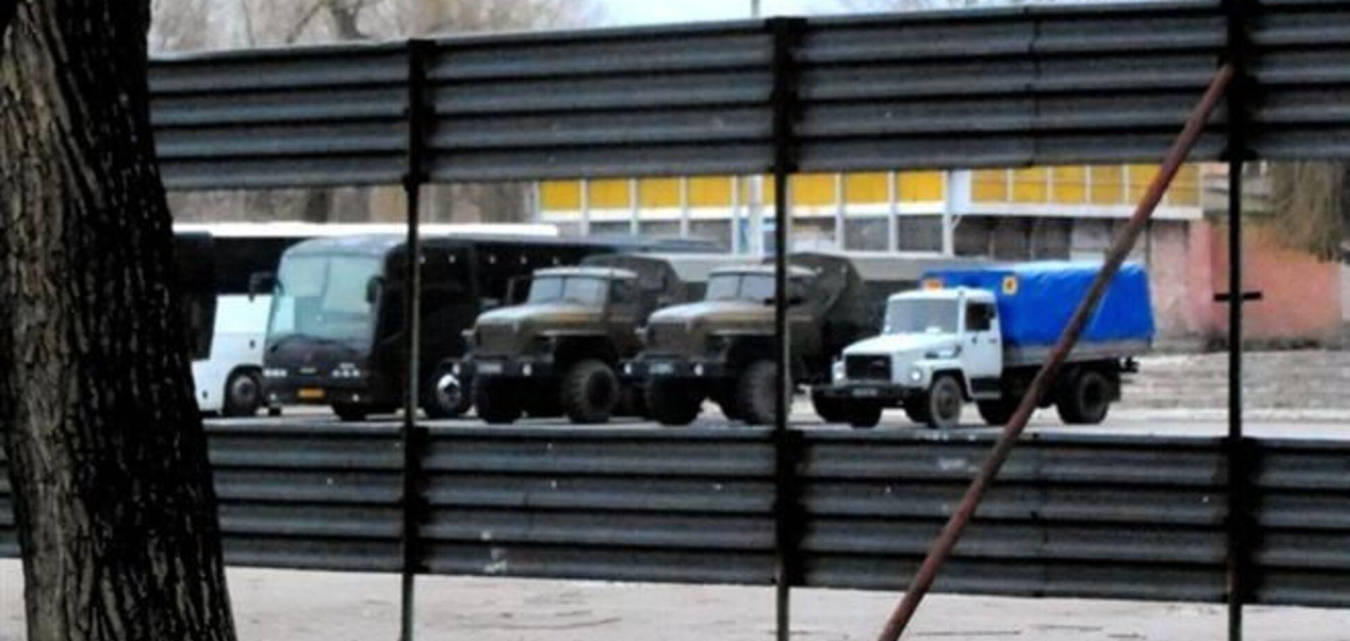 В 7 км от Киева собирается спецназ