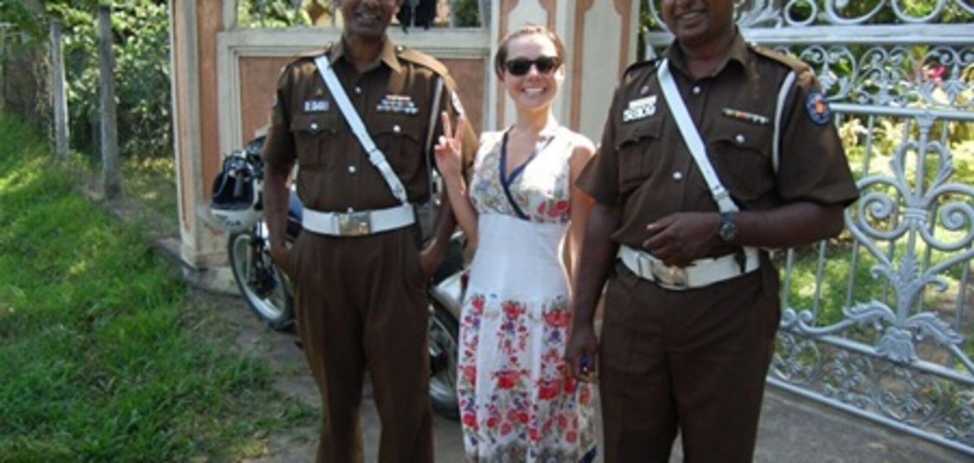 Гордиенко соблазнила полицию Шри-Ланки. Фото