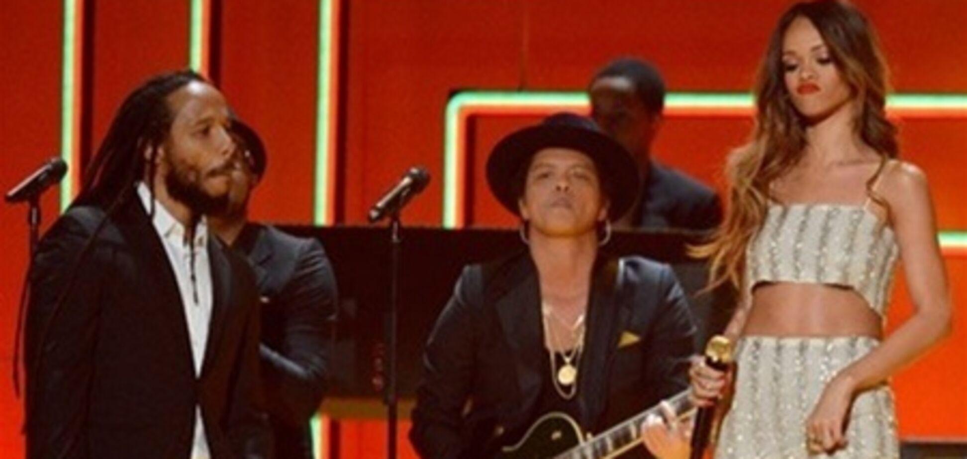 Рианна, Стинг, Бруно Марс и Дилан Марли зажгли Грэмми. Видео