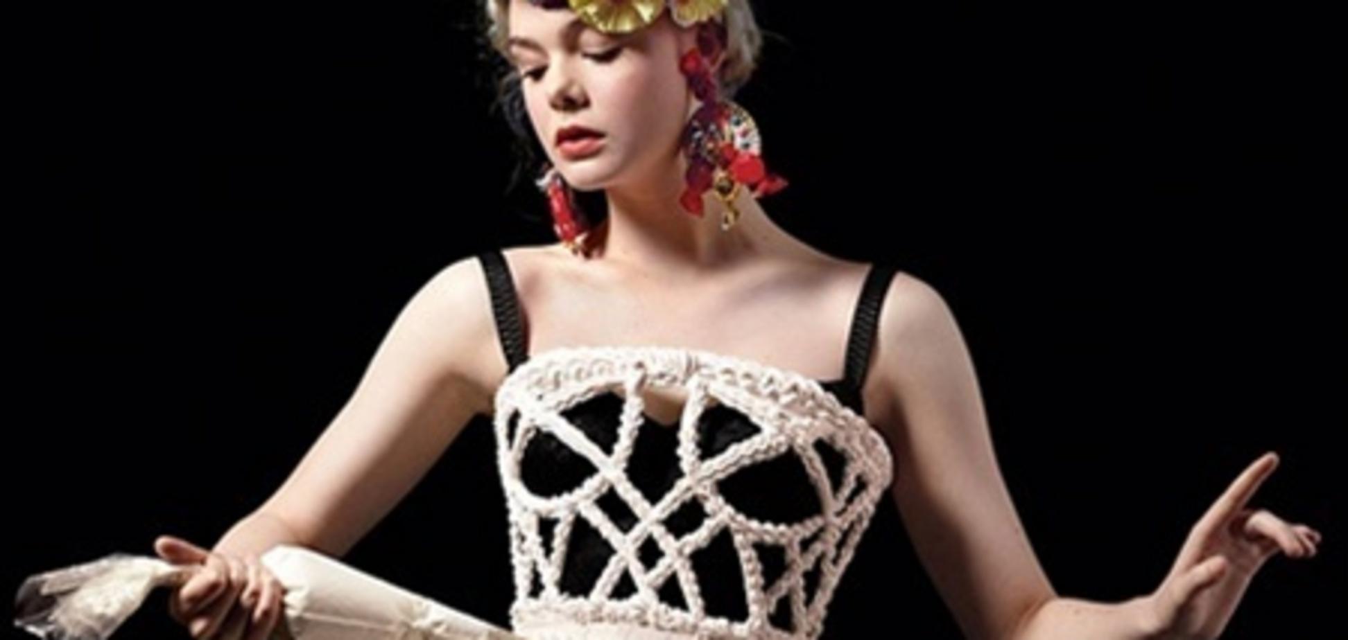 Элли Фаннинг вымазалась в креме для New York Magazine. Фото