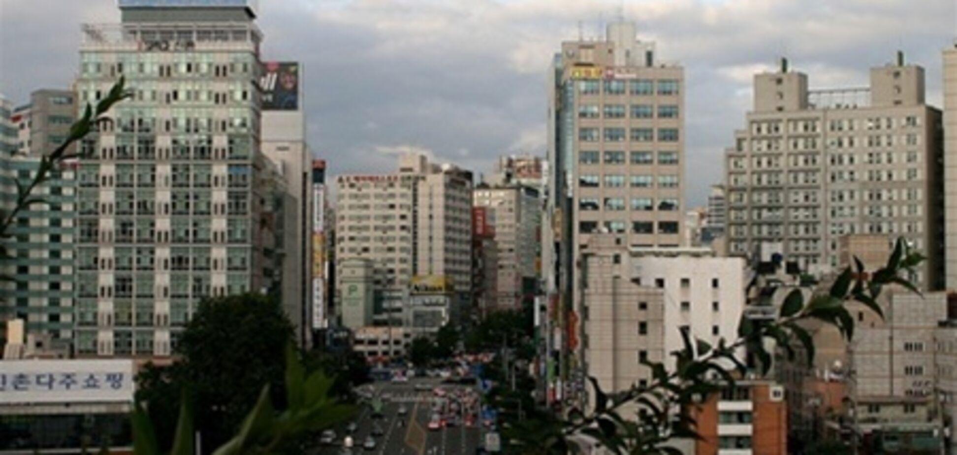 В Сеуле рекордно упали цены на недвижимость